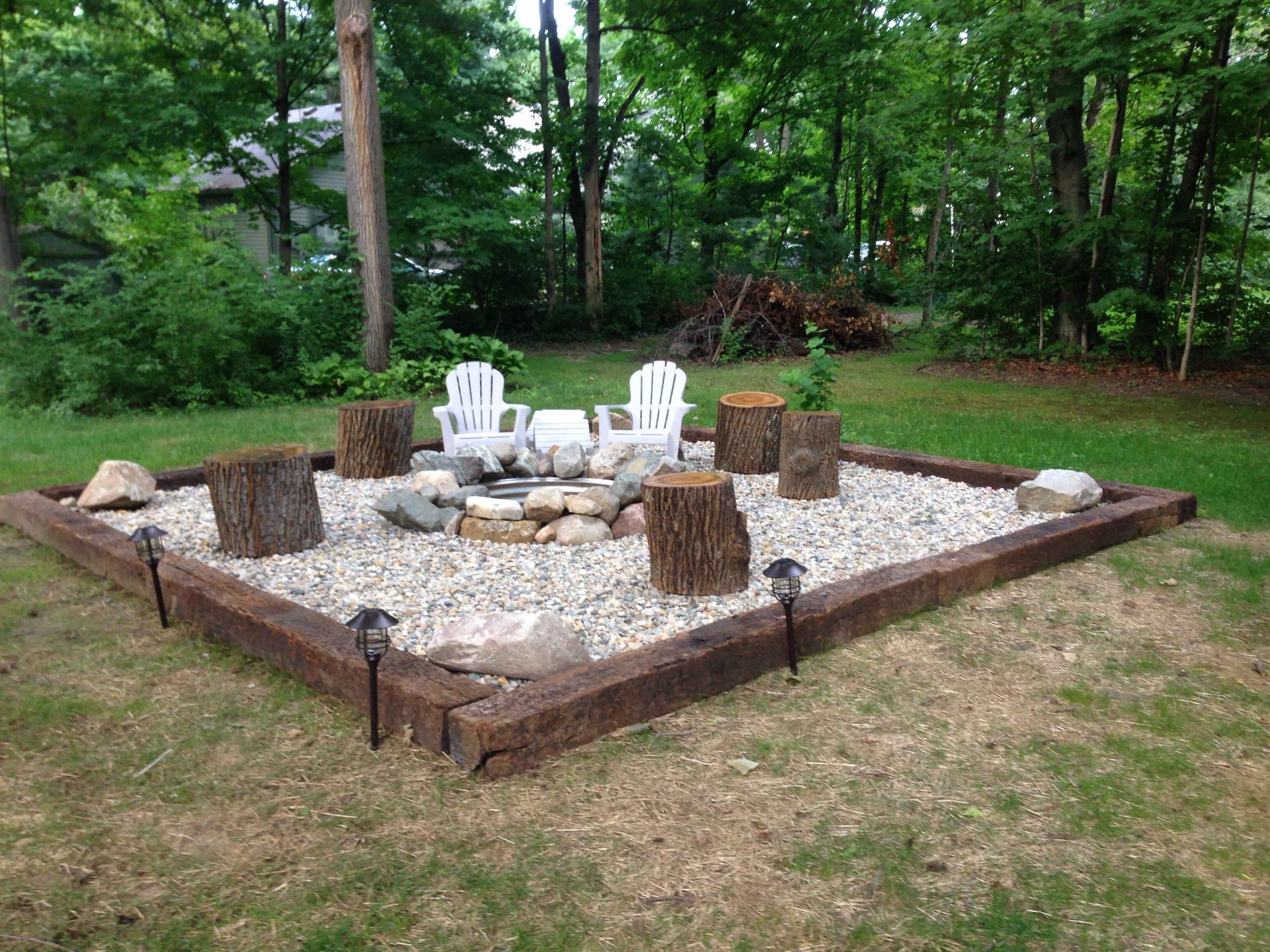 10 Beautiful Simple Backyard Fire Pit Ideas inspiration for backyard fire pit designs fire pit area fire ring 2021