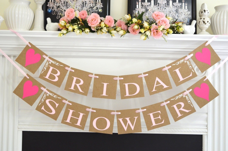 10 Most Recommended Bridal Shower Decoration Ideas Diy inspirations wedding shower decorations with bridal shower banner