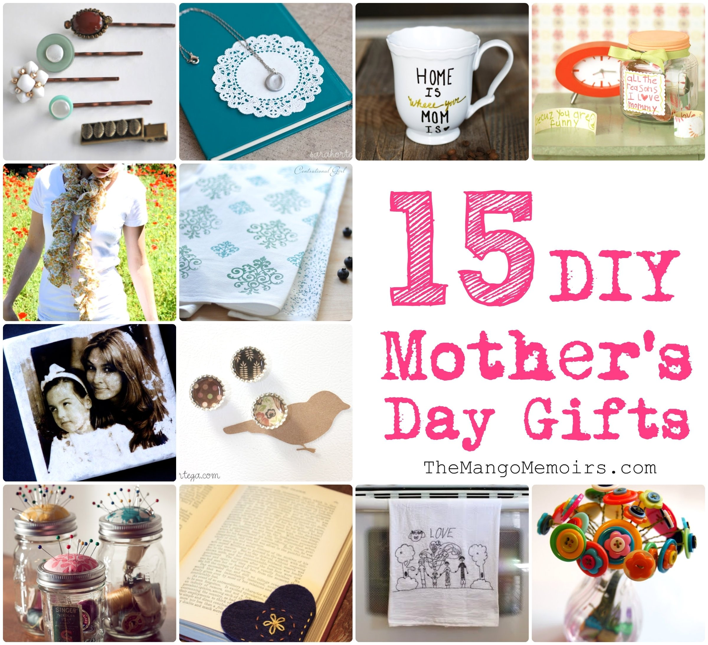 10 Most Popular Mother Day Homemade Gift Ideas inspired diy gifts for mothers day the mango memoirs