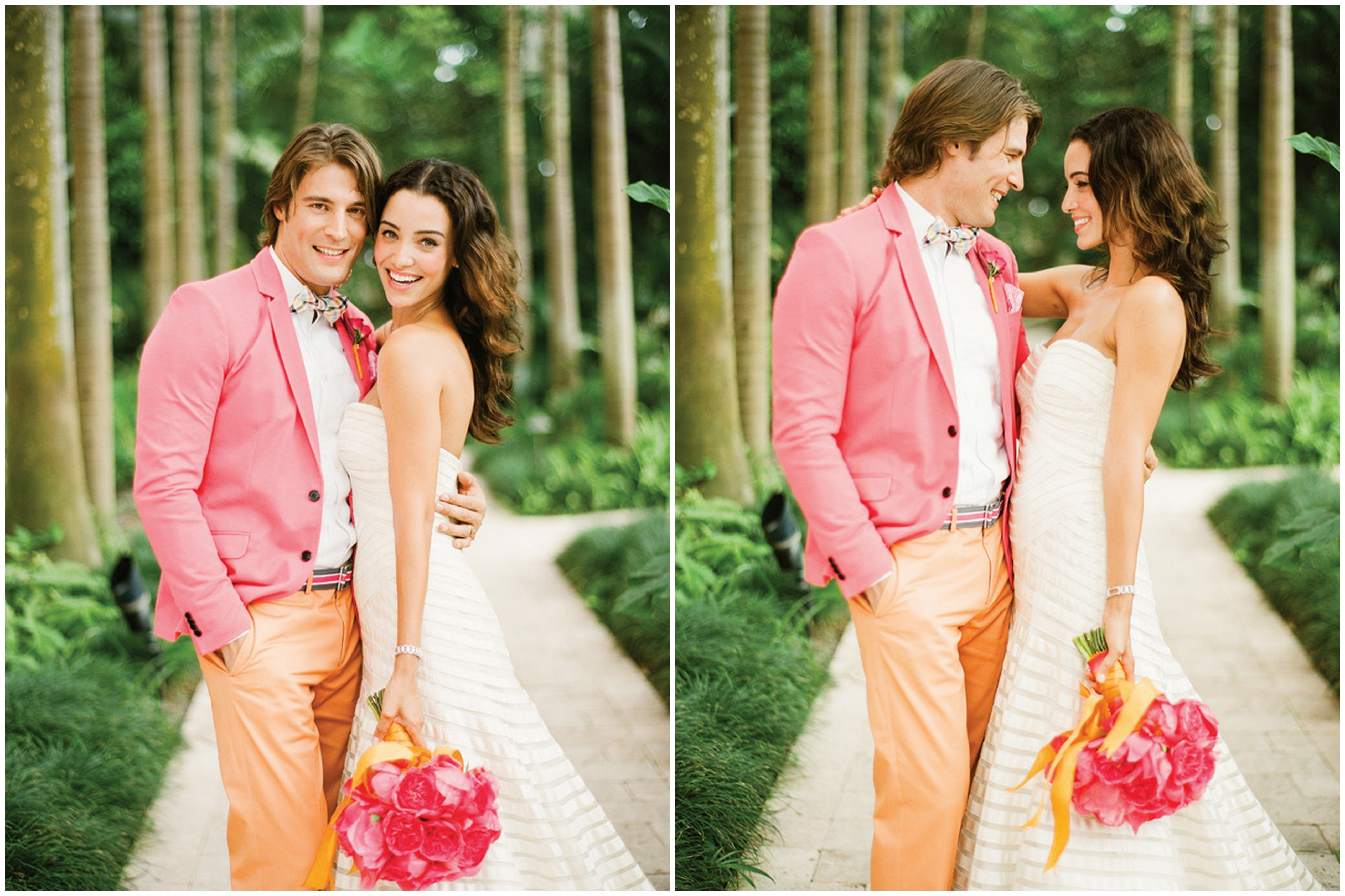 10 Attractive Pink And Orange Wedding Ideas inspiredthese citrus orange and pink wedding ideas inspired
