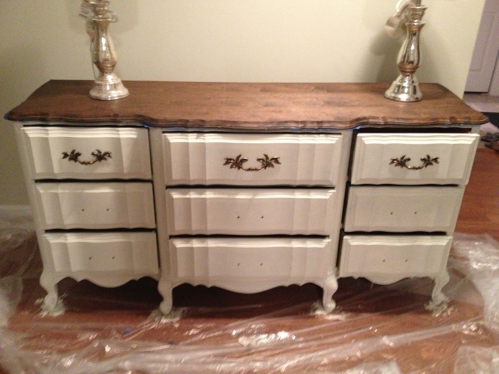 10 Pretty Annie Sloan Painted Furniture Ideas inspiring annie sloan cream and old white dresser things i uve 2020