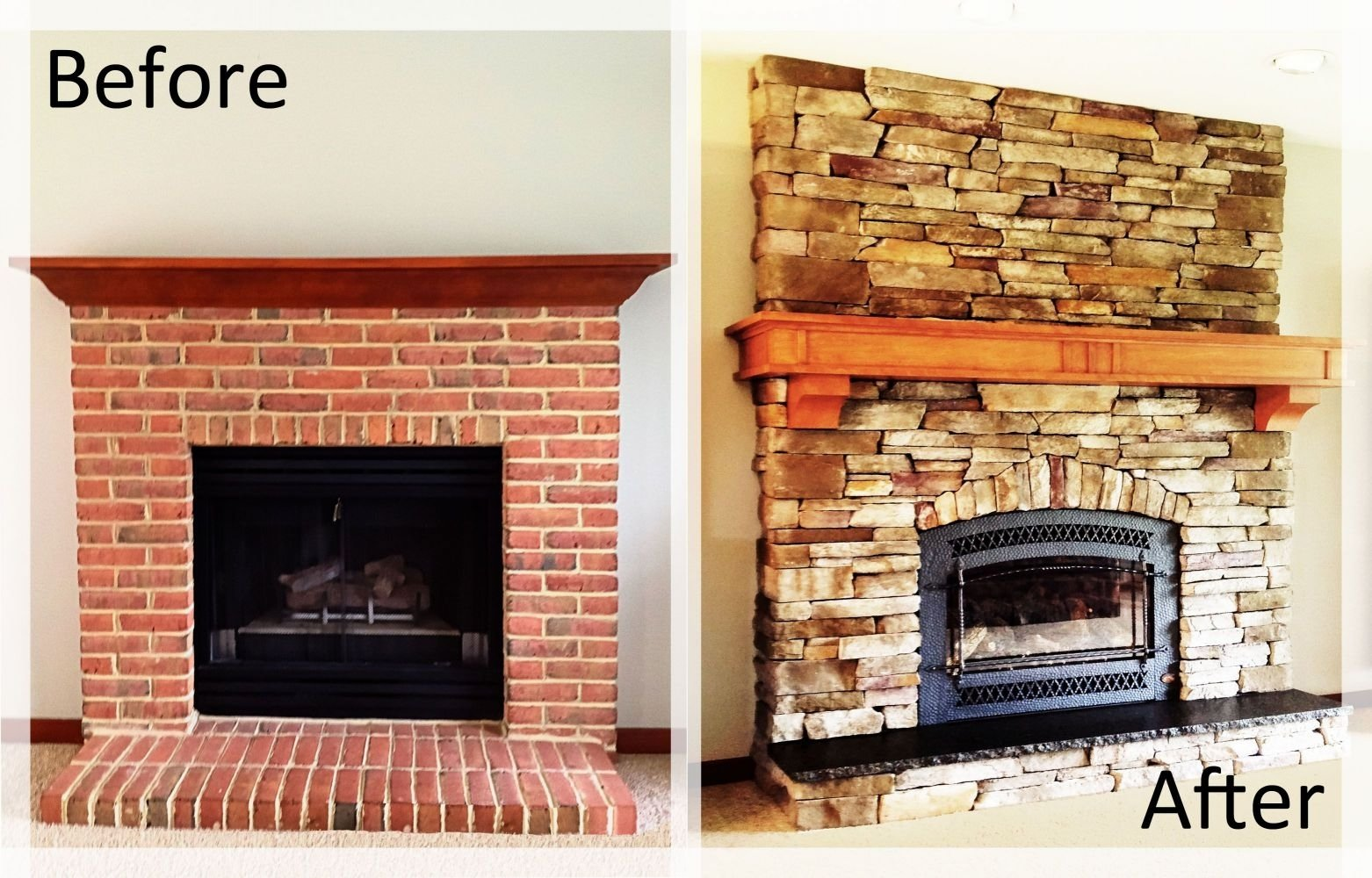 10 Unique Mantel Ideas For Brick Fireplace inspiring white brick fireplace decorating ideas decor image of 2021