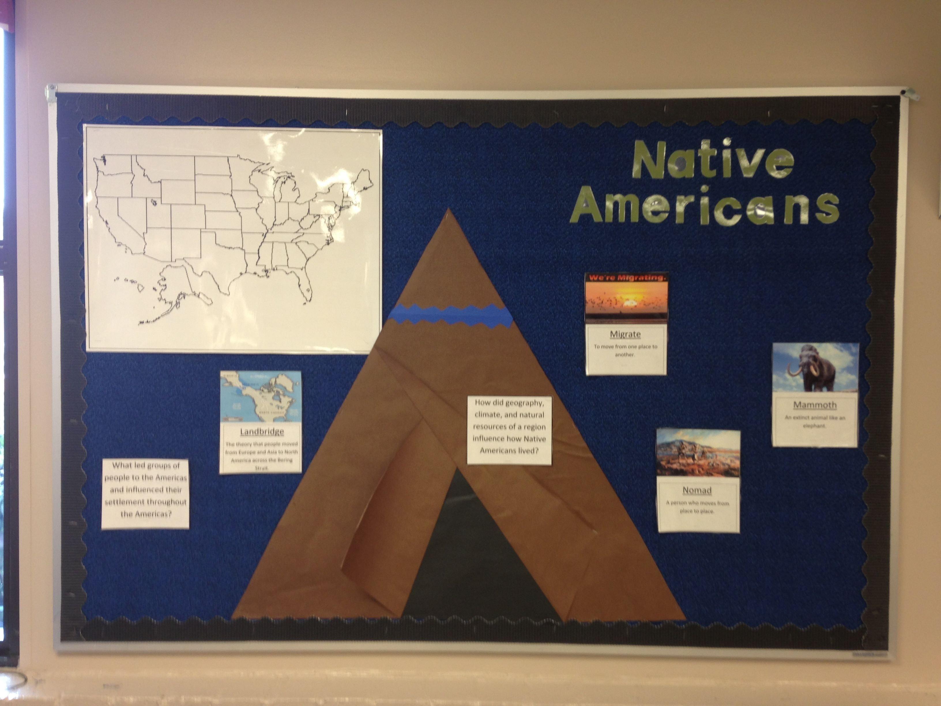 10 Most Recommended Native American Bulletin Board Ideas interactive 4th grade native american bulletin board eventually 2020