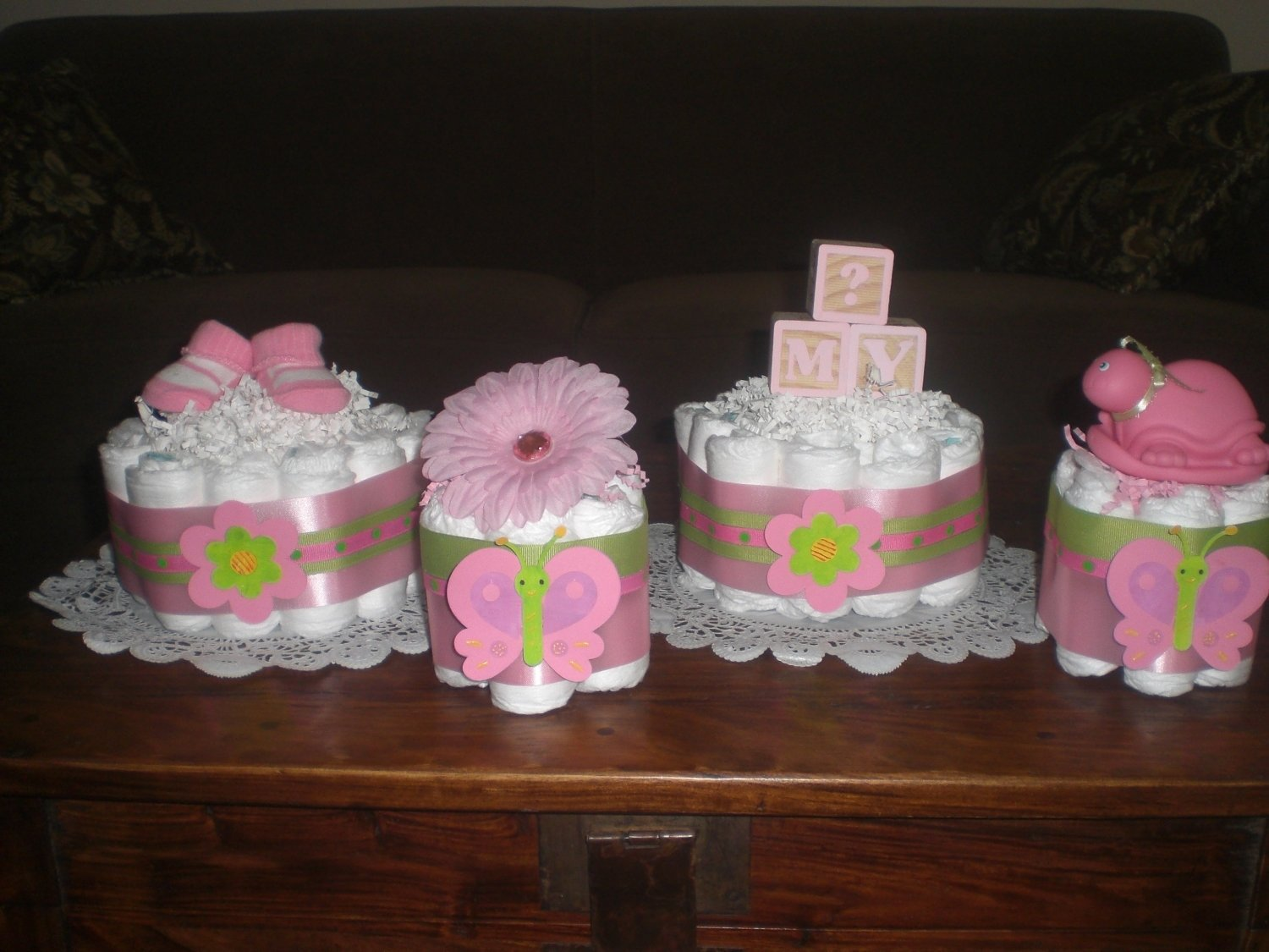 10 Famous Pink And Green Baby Shower Ideas interesting design diaper ideas for baby shower spectacular homemade 2020