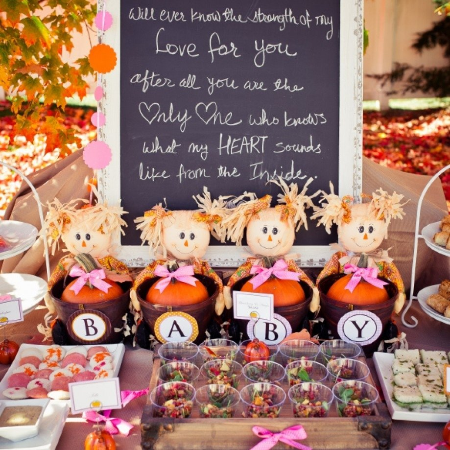 10 Gorgeous Fall Themed Baby Shower Ideas interesting design fall themed baby shower clever archives unique 2020