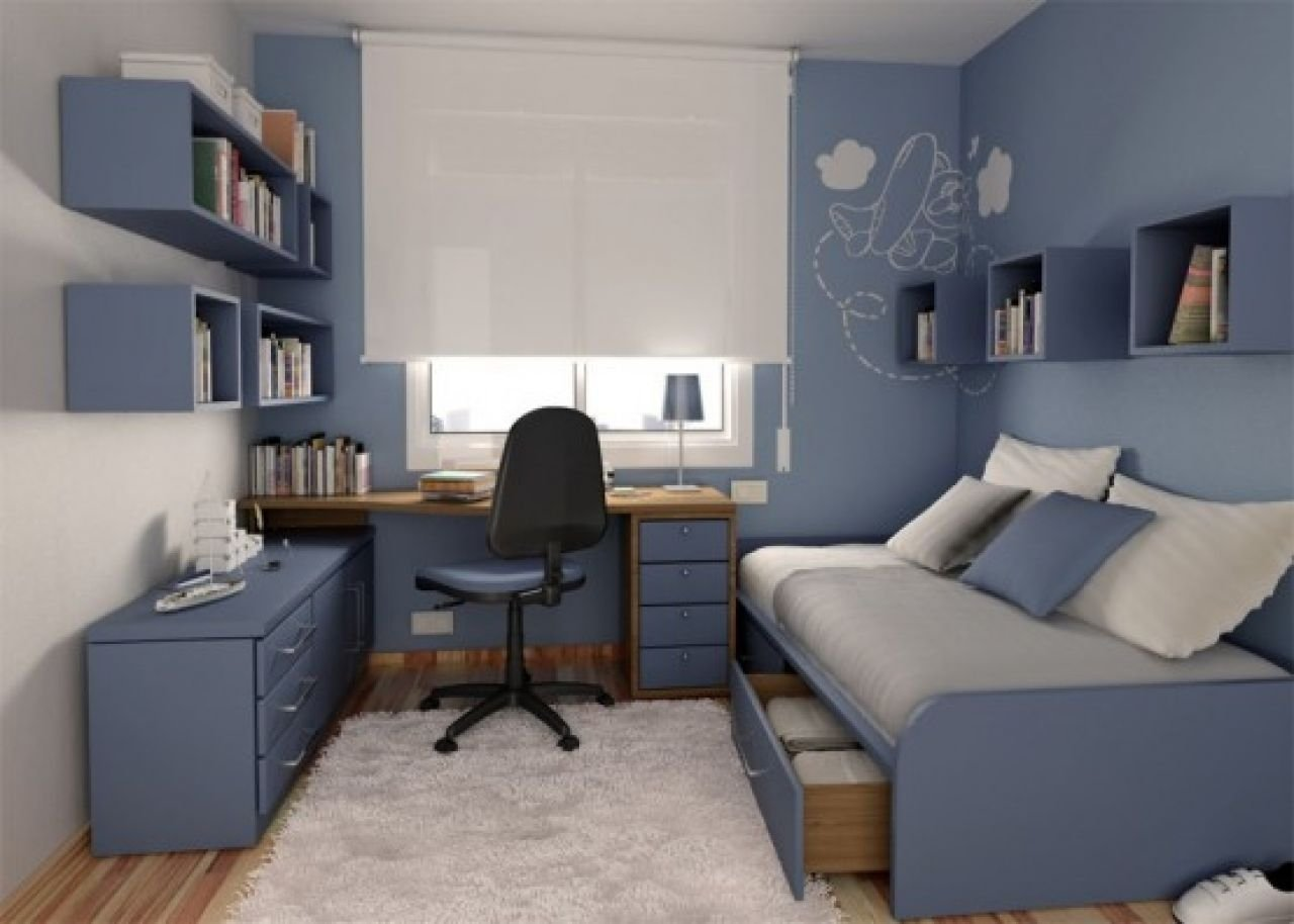 10 Wonderful Small Bedroom Ideas For Boys