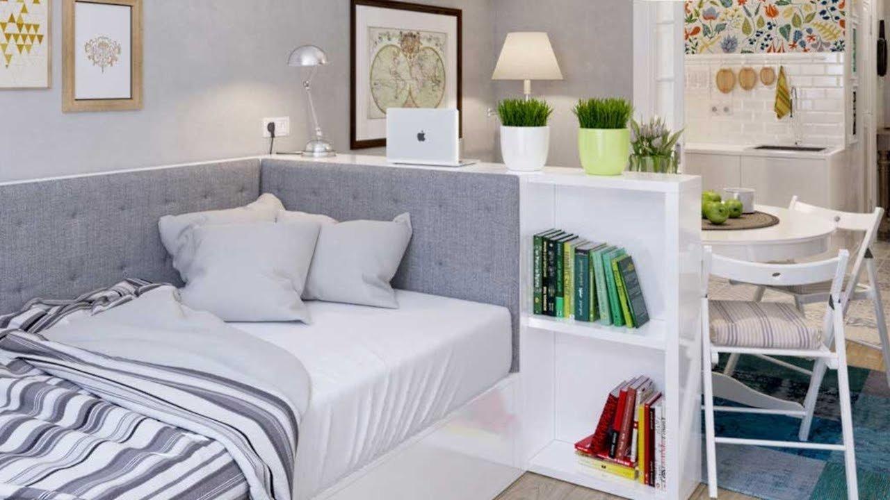 10 Ideal Small Studio Apartment Decorating Ideas interior design small studio apartment 42 ideas youtube 2020