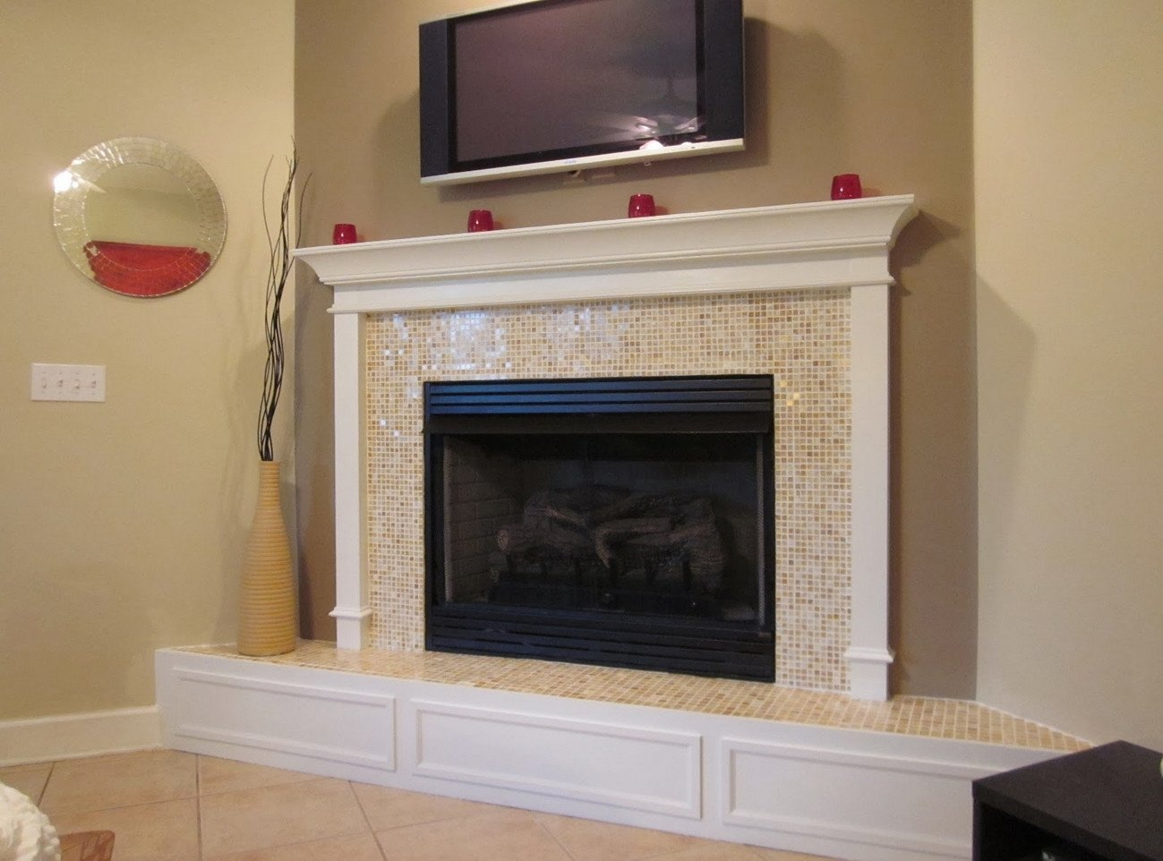 interior ideas: stunning fireplace mantels and surround ideas for