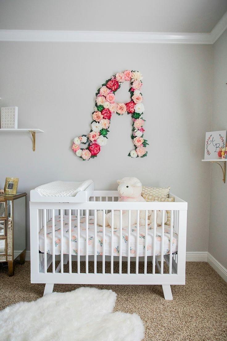 10 Stunning Pinterest Baby Girl Nursery Ideas interior quotes for baby girl room nursery ideas flowers bedroom 2 2021