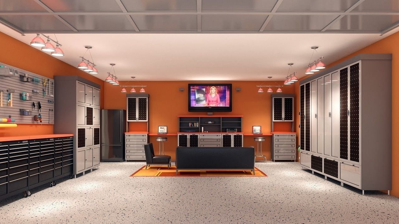 10 Most Recommended Garage Remodeling Ideas Man Cave interior unique garage design ideas sleek and neat garage man