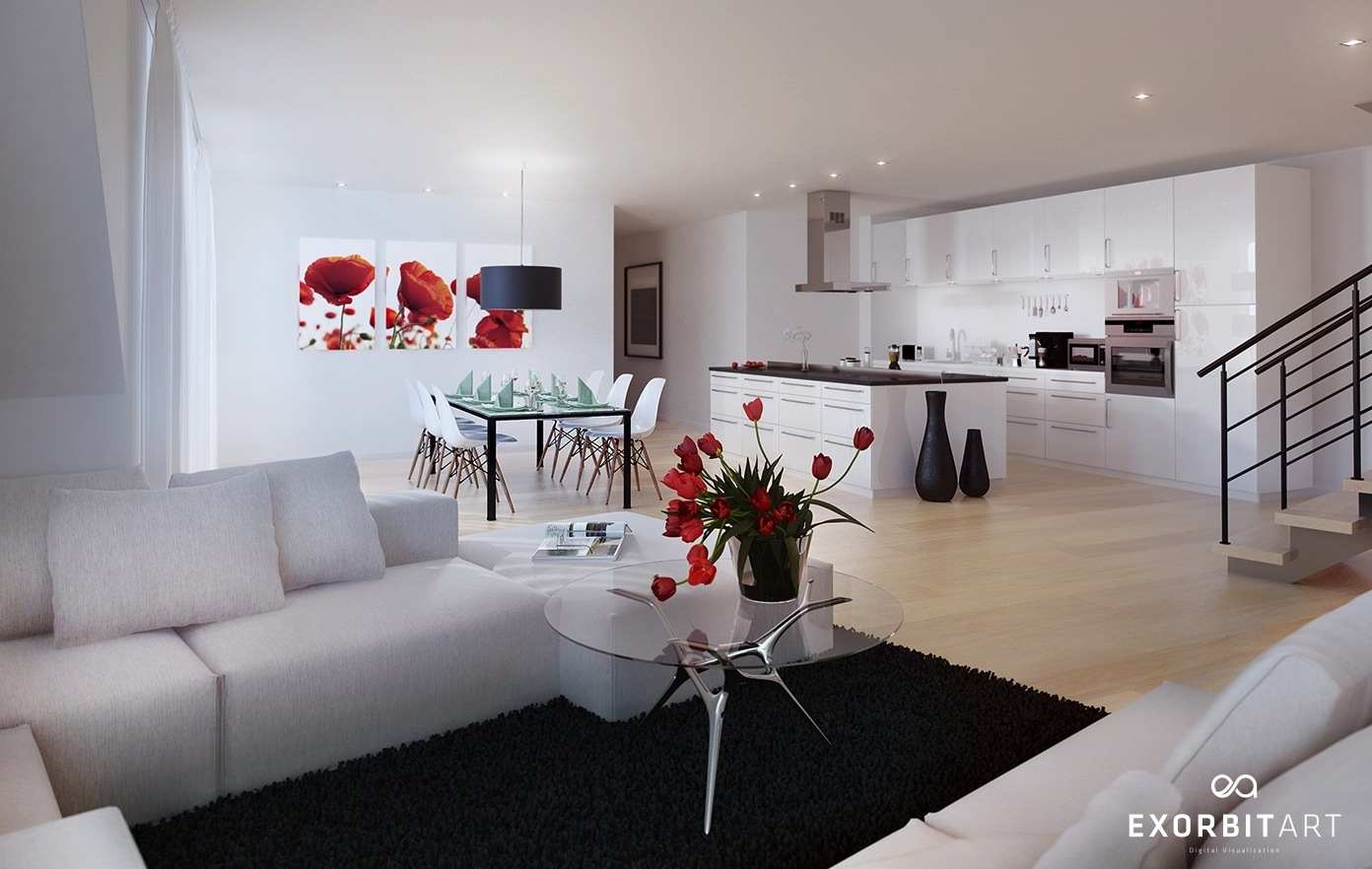 10 Cute Red Black And White Room Ideas %name 2020