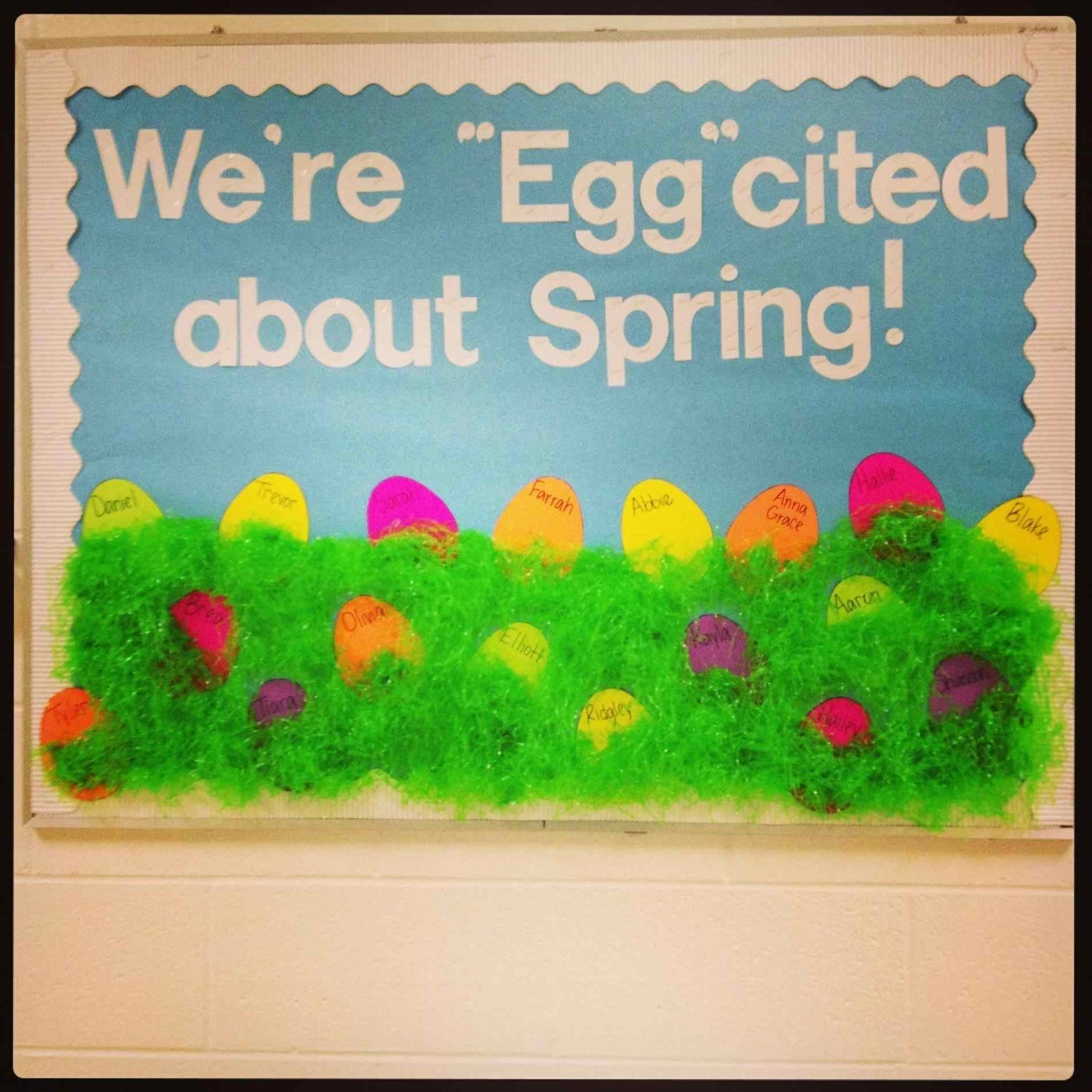 10 Attractive Spring Bulletin Board Ideas Preschool into preschool spring bulletin board ideas for church into my one of 2021
