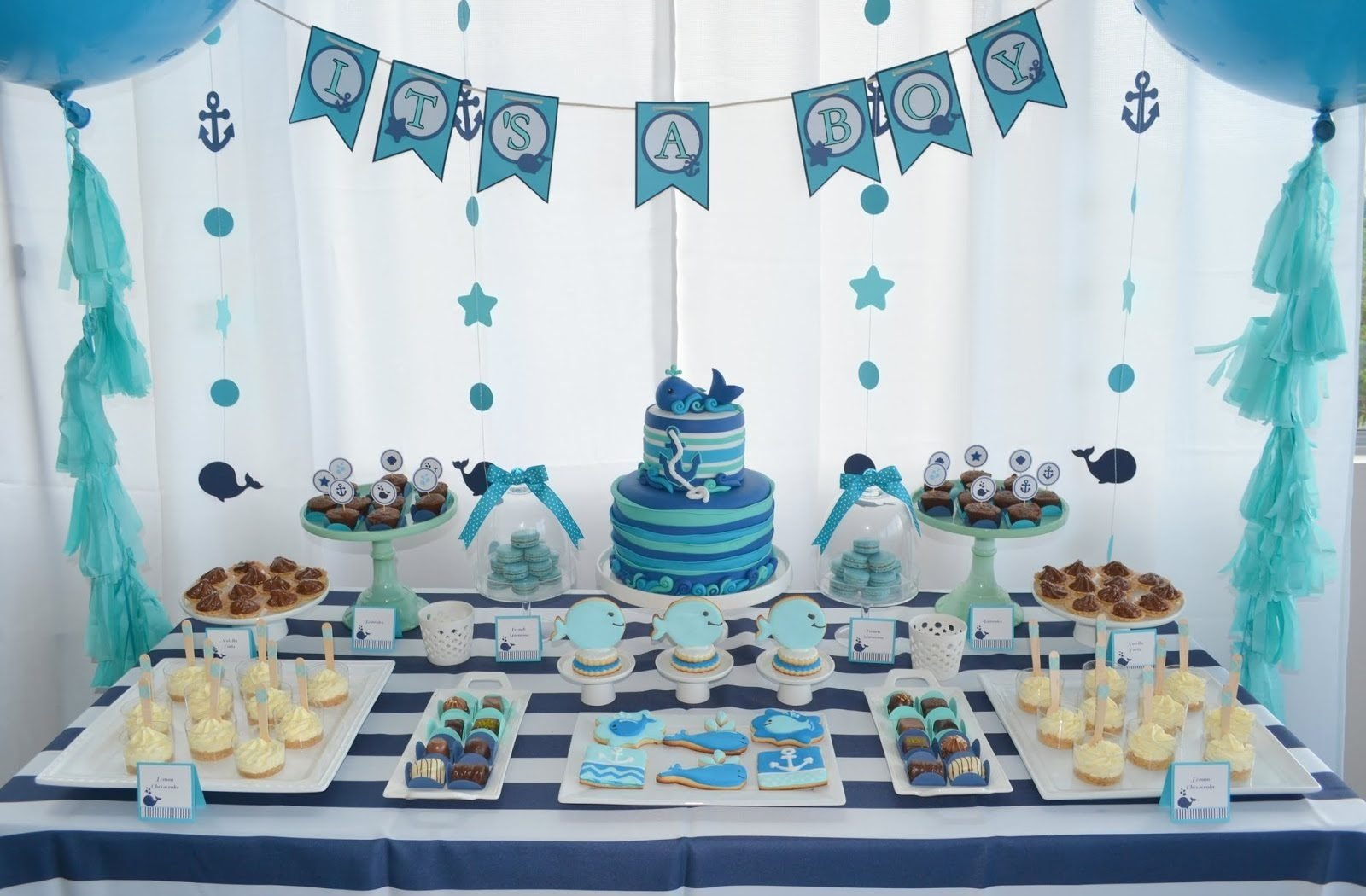 10 Fashionable Blue Safari Baby Shower Ideas intriguing tables that will source of plus with blue me in cake 2020