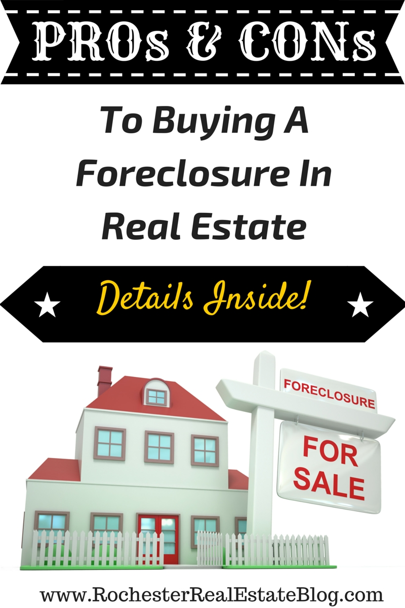 is buying a foreclosure a good idea in real estate?