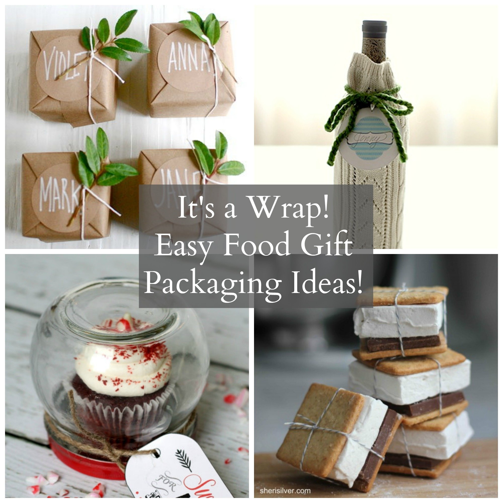 10 Famous Homemade Christmas Food Gift Ideas its a wrap easy adorable holiday food gift packaging ideas babble