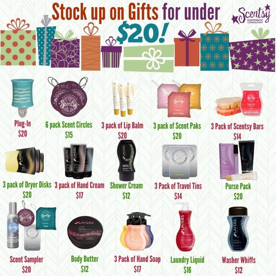 10 Cute Christmas Gift Ideas Under 20