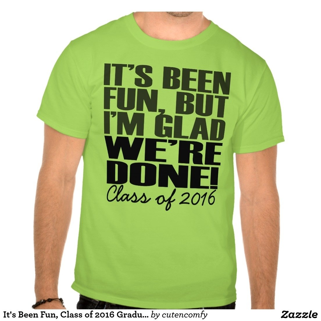 it's been fun, class of 2016 graduation seniors t-shirt | graduation