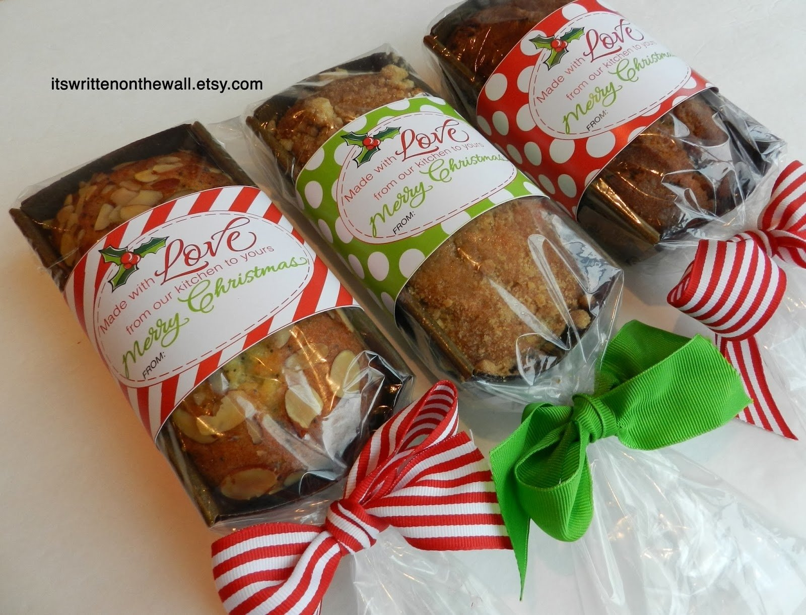10 Elegant Food Gift Ideas For Christmas its written on the wall add a christmas tags to your homemade 1 2020