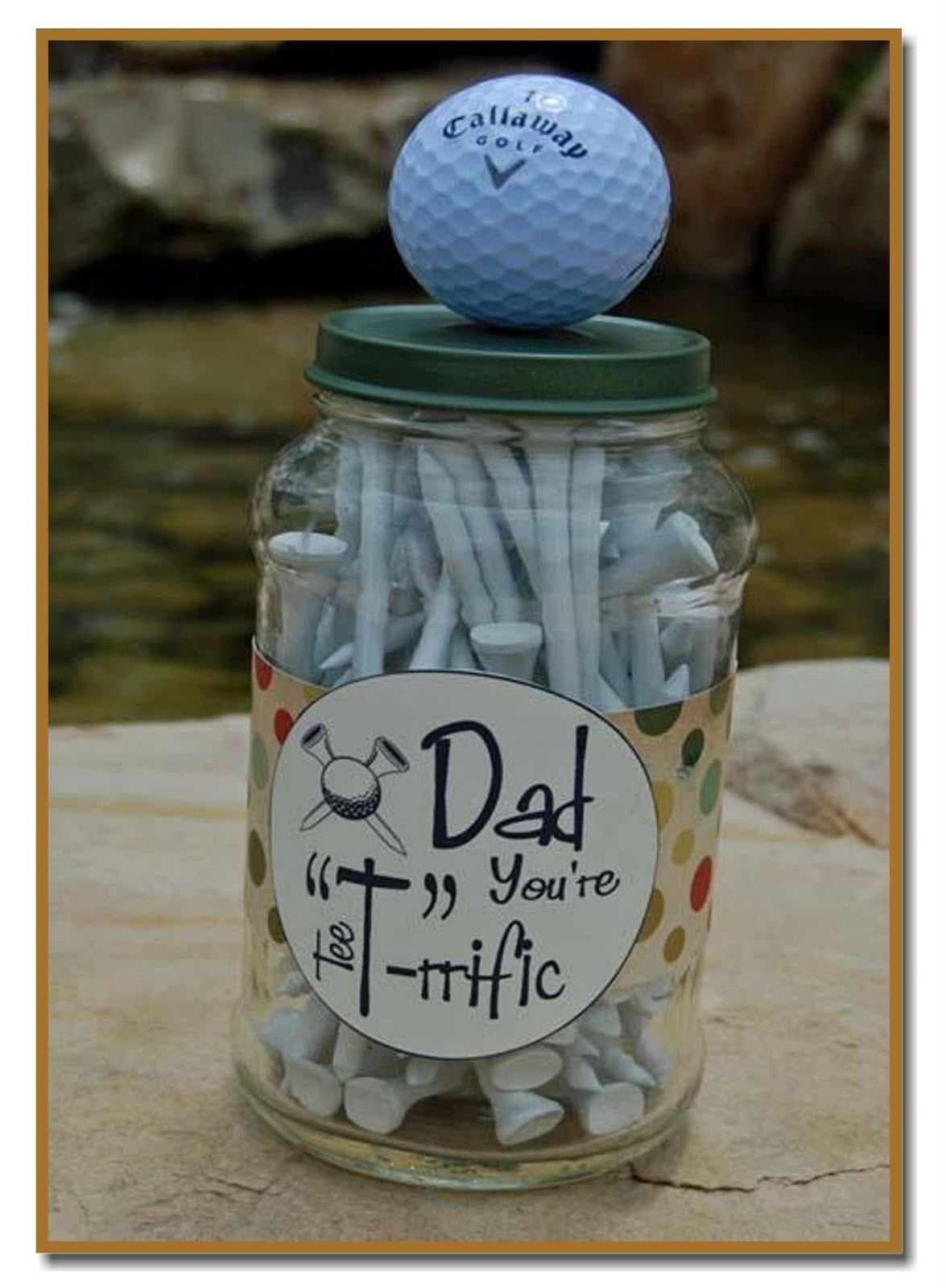 10 Elegant Golf Gift Ideas For Dad its written on the wall cool fathers day gift ideas to make
