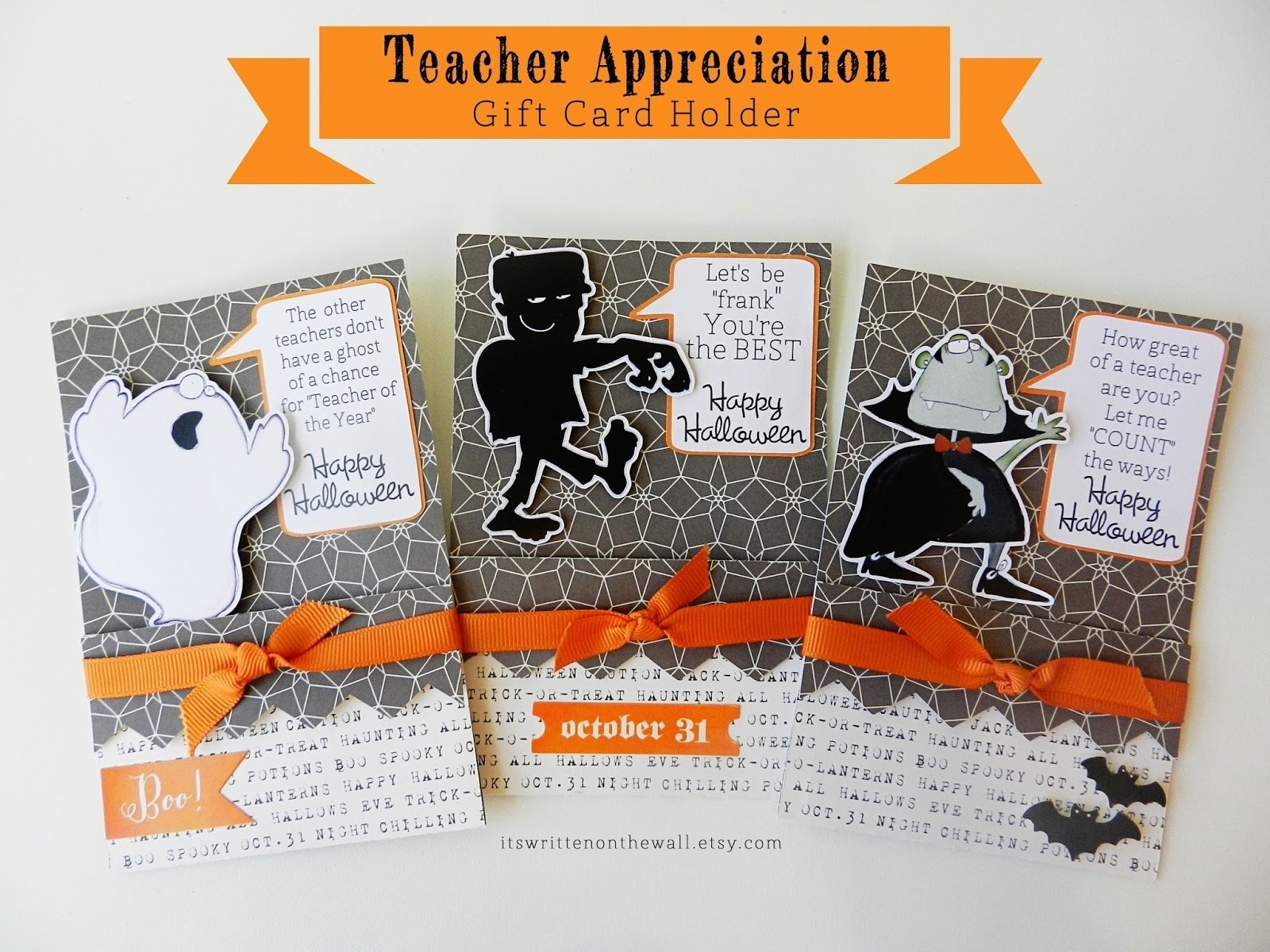 10 Stylish Halloween Gift Ideas For Teachers its written on the wall fabulous halloween teacher appreciation 2020
