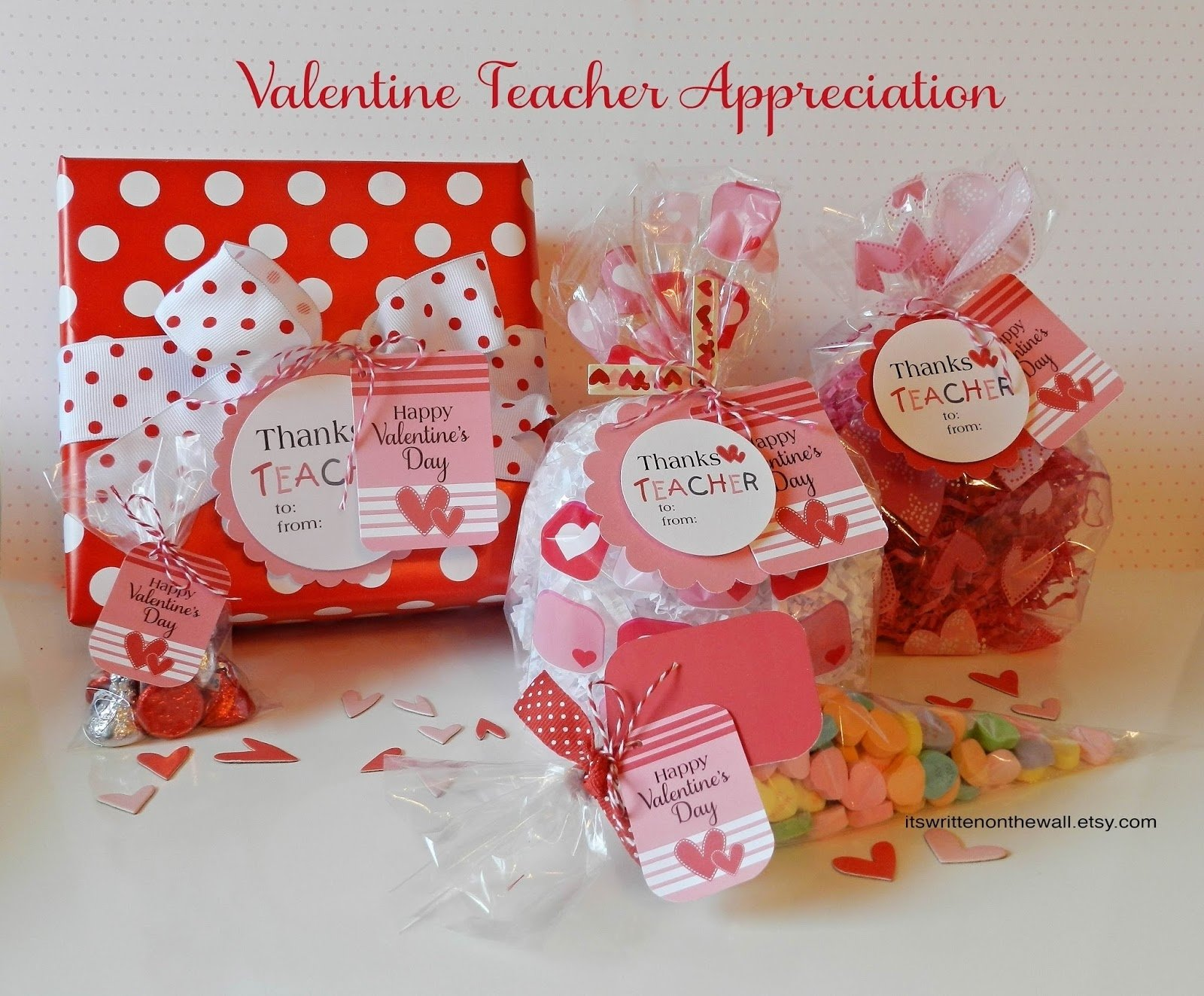 10 Pretty Valentine Gift Ideas For Teachers its written on the wall valentines day gift tags for teacher 1 2021