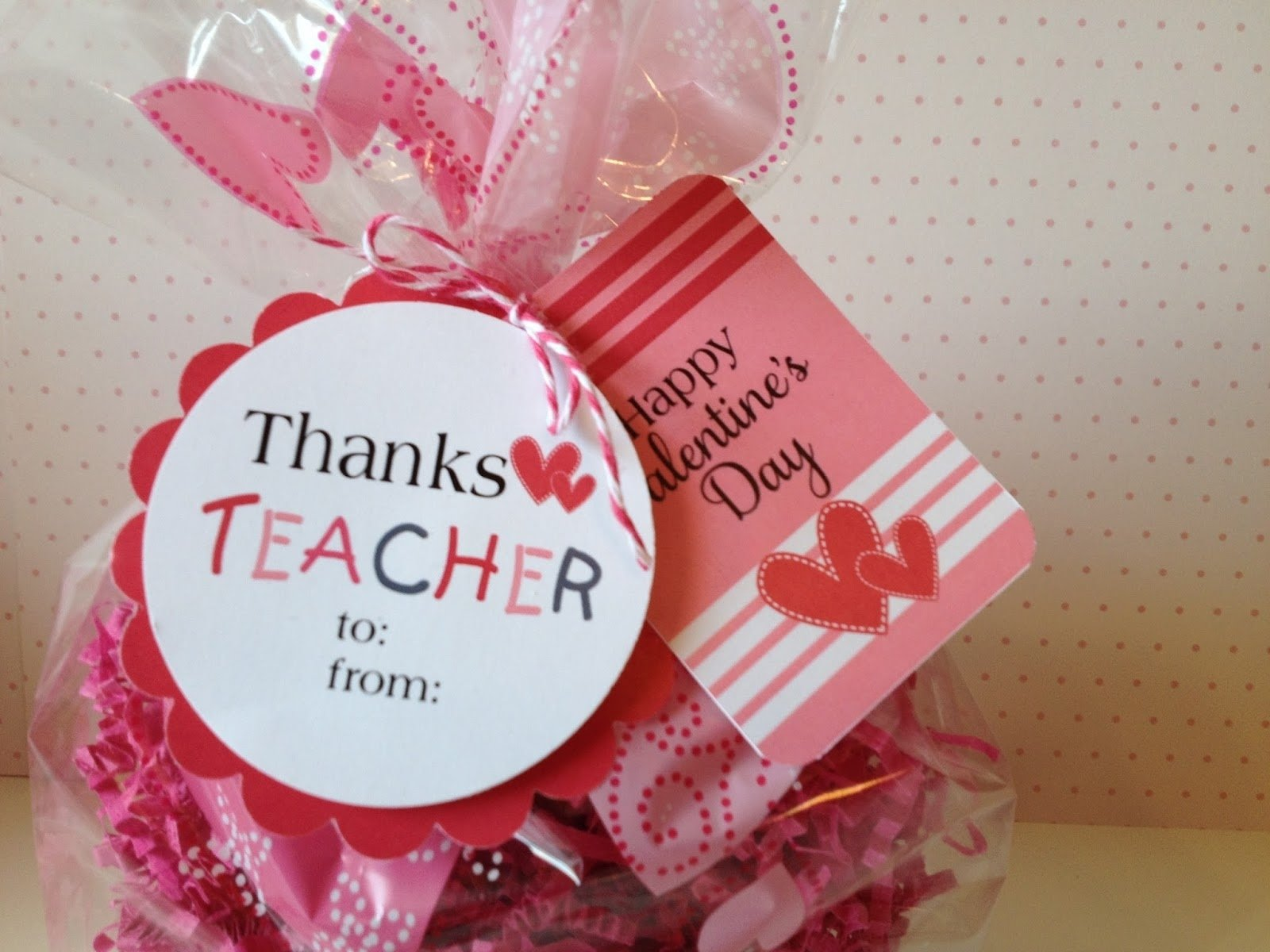 it's written on the wall: valentine's day gift tags for teacher