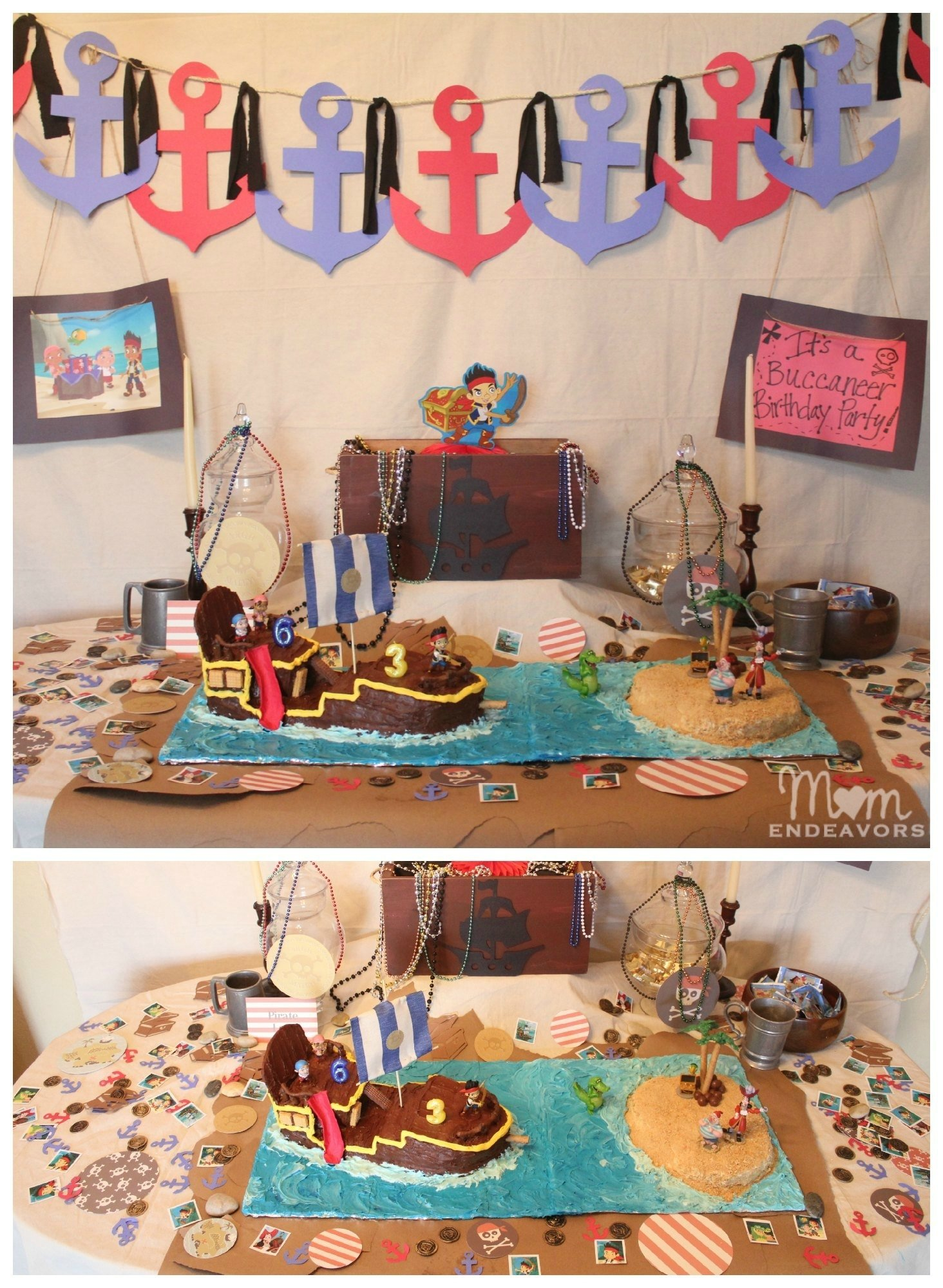 10 Lovable Jake And The Neverland Pirates Decoration Ideas jake and the never land pirates birthday party 8 2020