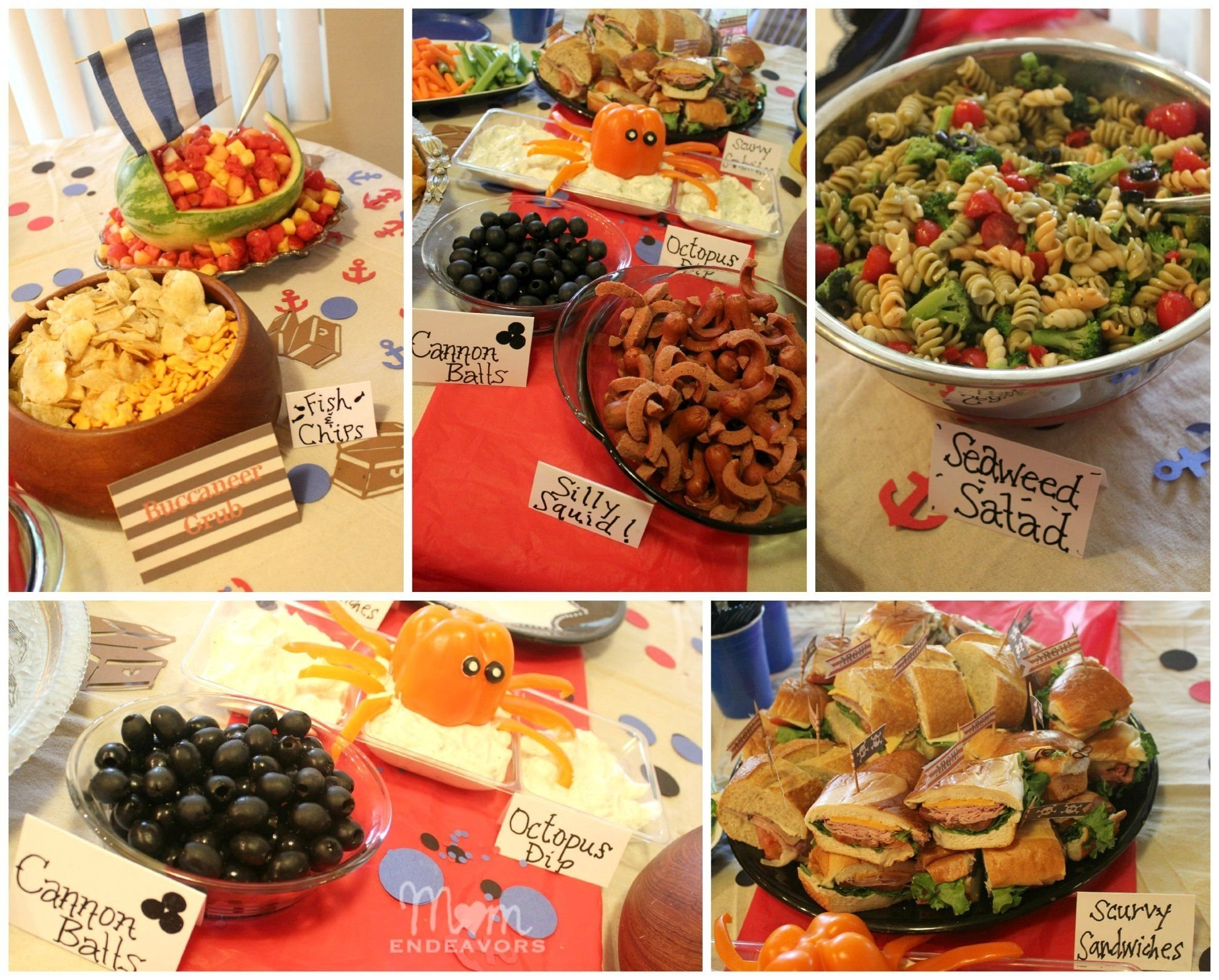 10 Stylish Pirate Birthday Party Food Ideas jake and the never land pirates birthday party food birthday party 2020