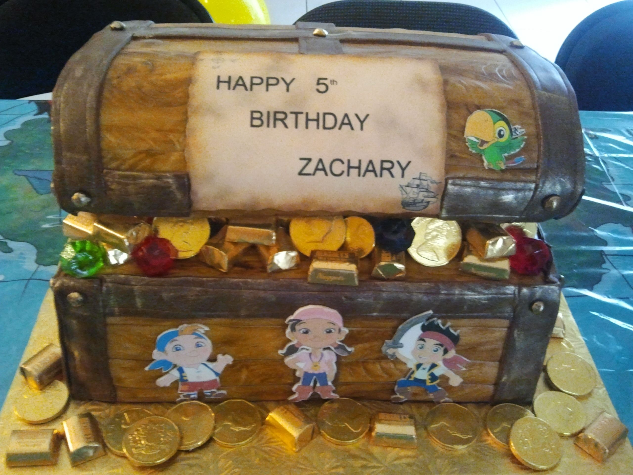 10 Awesome Jake And The Neverland Pirate Party Ideas jake and the neverland pirates cake cute idea for party favors and 2020