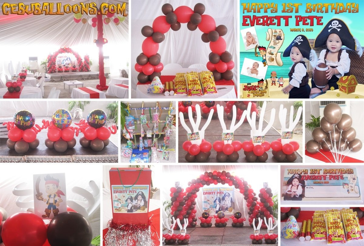 10 Lovable Jake And The Neverland Pirates Decoration Ideas jake and the neverland pirates cebu balloons and party supplies 5 2020