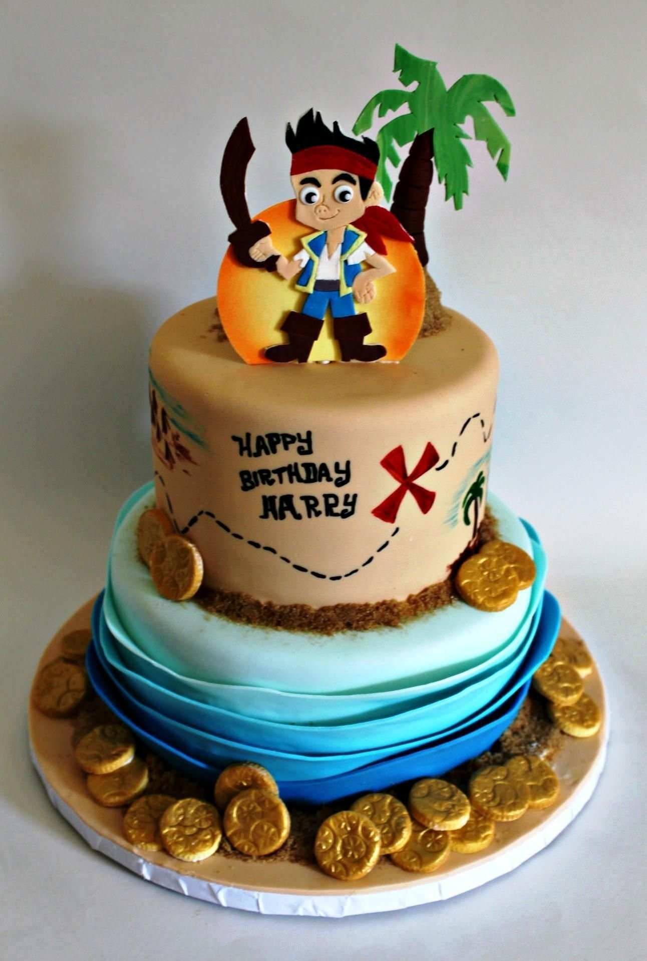 10 Nice Jake And The Neverland Pirate Cake Ideas jake and the neverland pirates party ideas buscar con google 1 2020