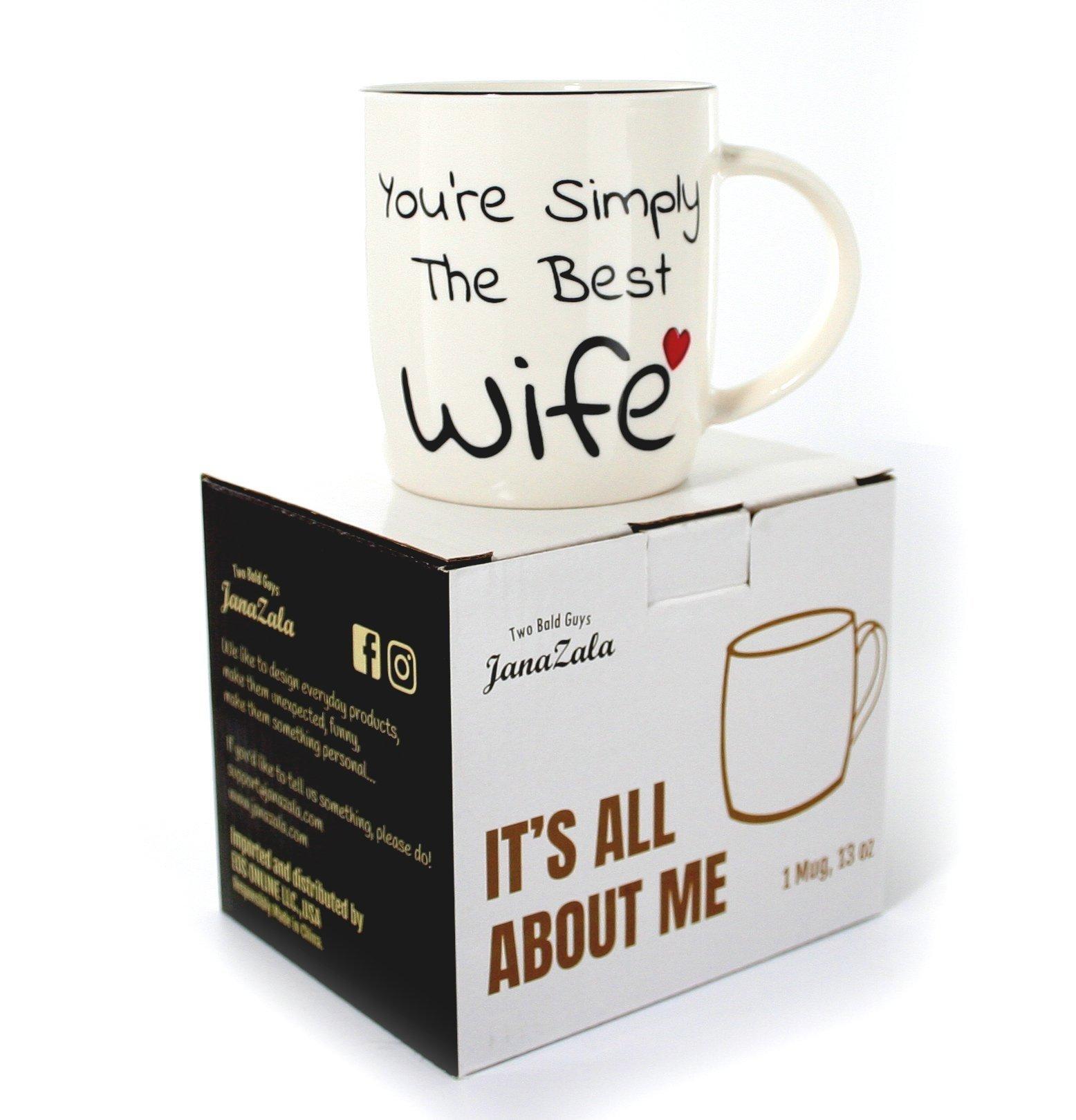 10 Perfect Birthday Gift Ideas For Wife janazala best wife mug youre simply the best wife mug coffee mug 2020