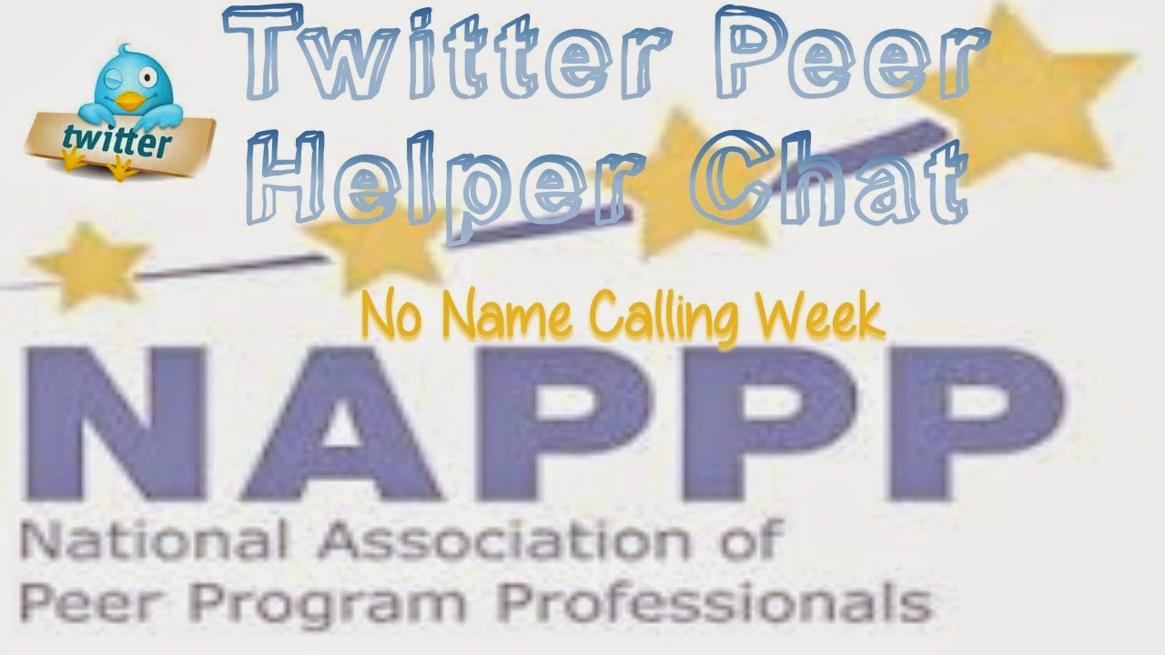 10 Elegant No Name Calling Week Ideas january peer helper chat no name calling week activities ideas 2020