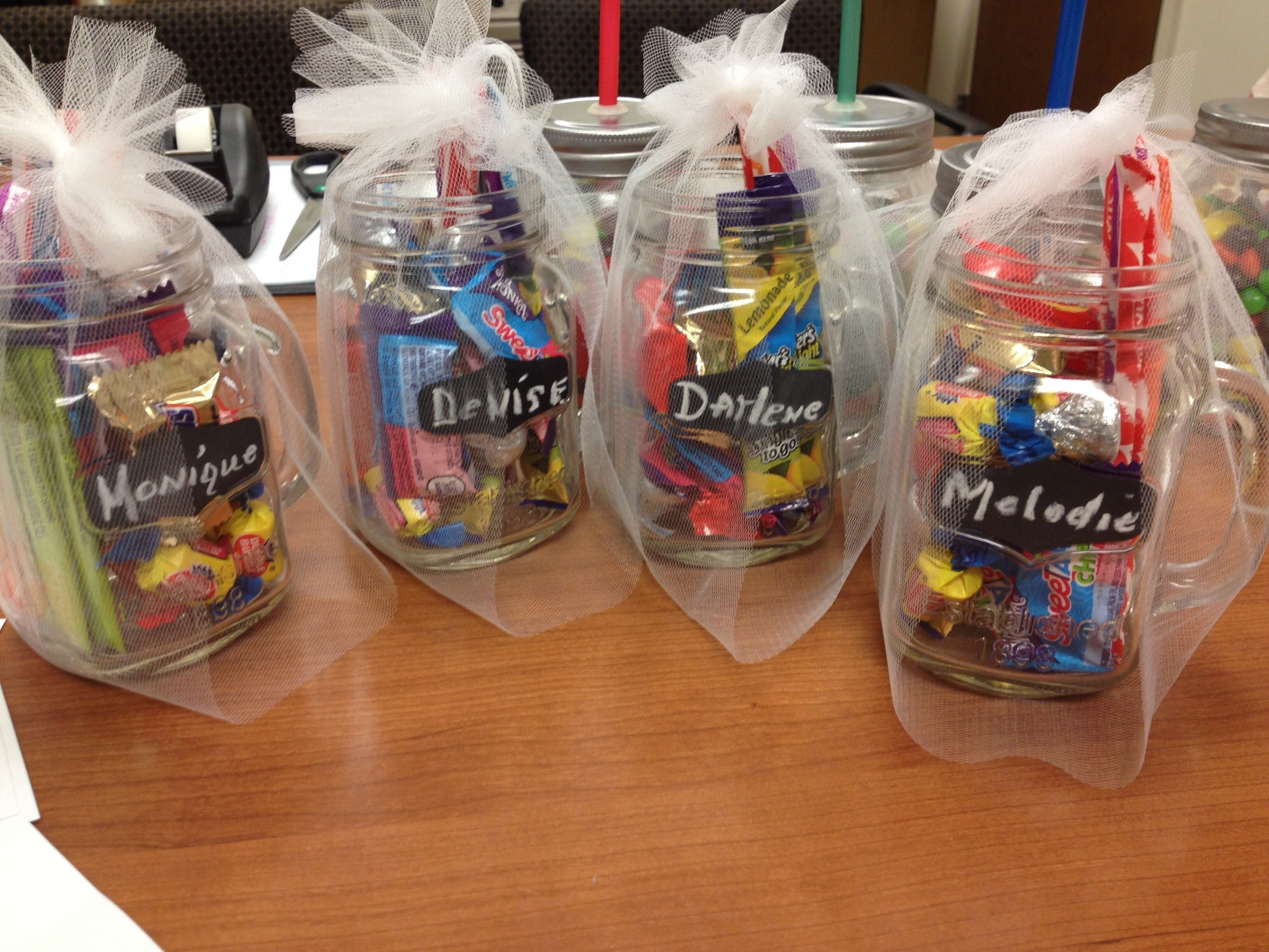 10 Stylish Admin Professionals Day Gift Ideas jar of yummy fun great mason jar gift idea i made these for my 4 2021