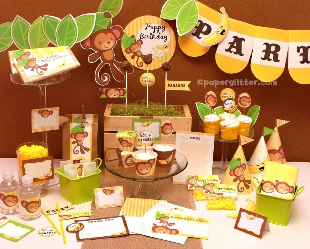 10 Ideal Monkey Themed Birthday Party Ideas jennifer stalnaker this site has a bunch of different variations on 2021
