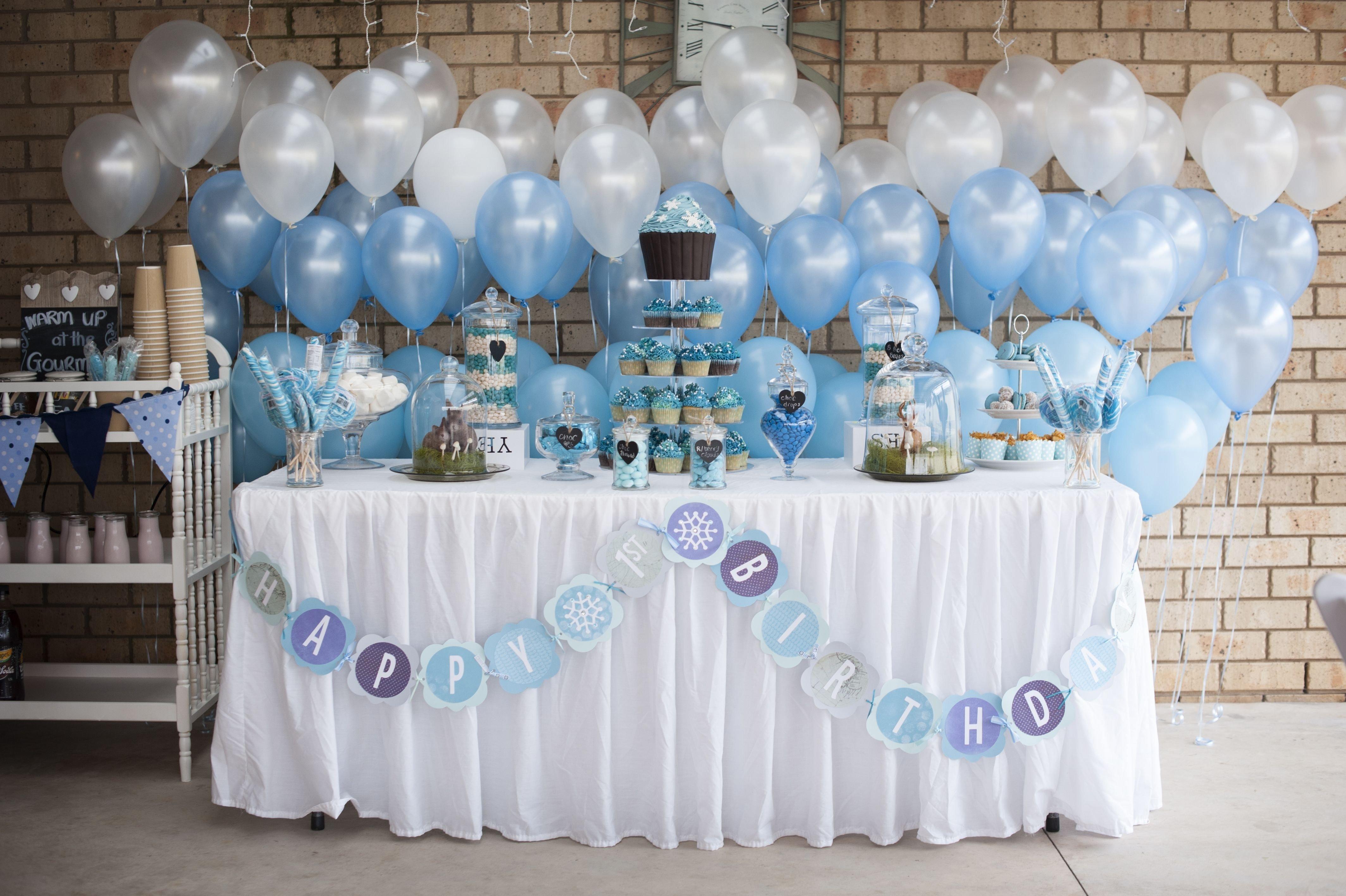 10 Great Winter Wonderland Birthday Party Ideas jeremiahs winter wonderland first birthday birthdays winter 2021