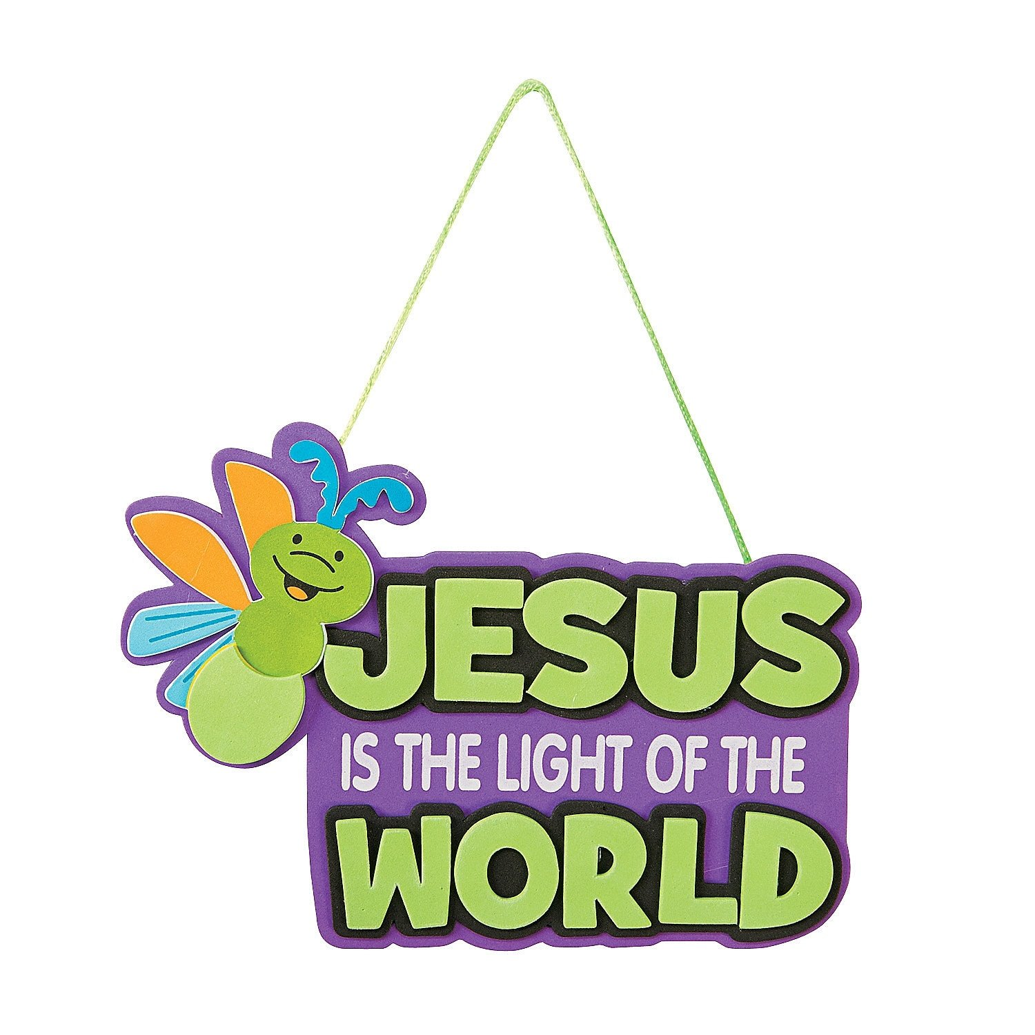 10 Fabulous Vacation Bible School Themes And Ideas jesus glow in the dark sign craft kit craft kits cave quest and 2020