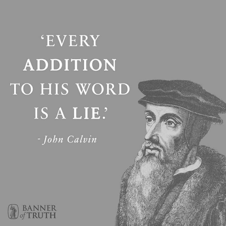 10 Best Identify Five Ideas Taught By John Calvin john calvin word of god bible serving the lord and my family 2021