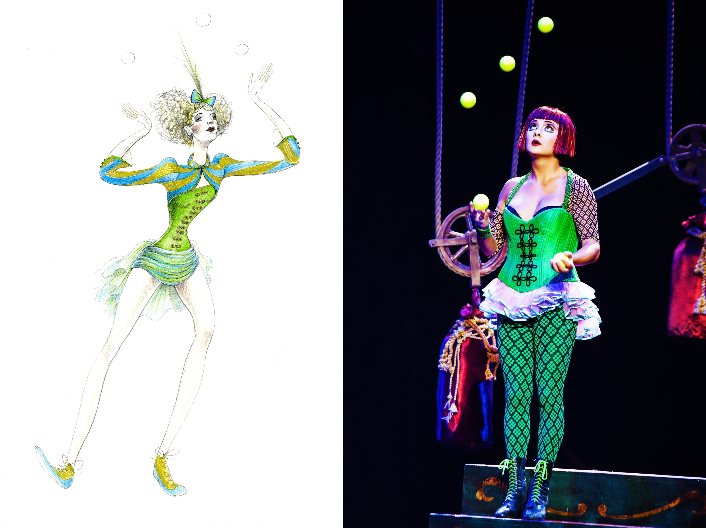 10 Famous Cirque Du Soleil Costume Ideas jonglerie the juggler designedalan hranitelj for zarkana 2021