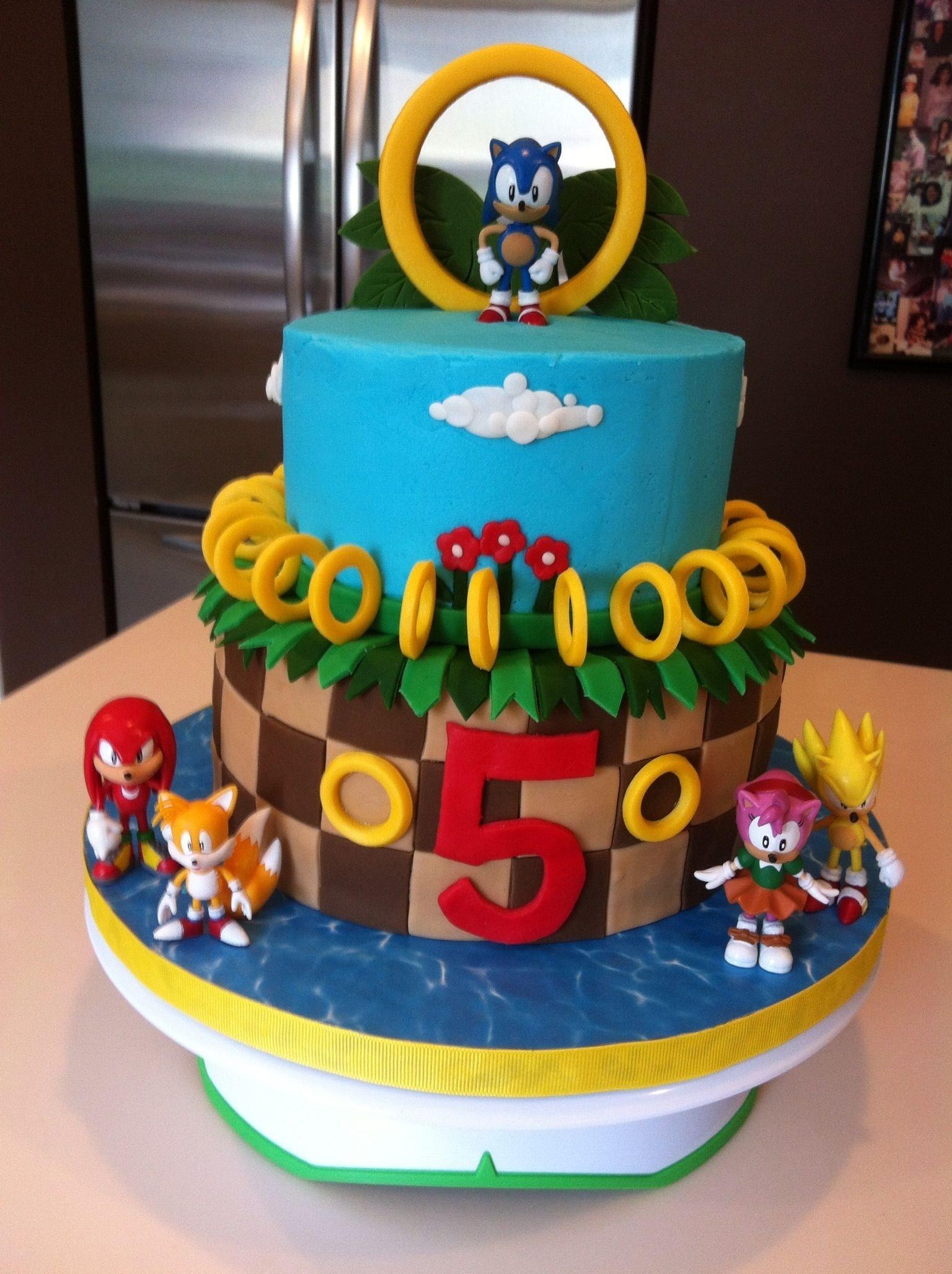 10 Nice Sonic The Hedgehog Party Ideas josh wants a sonic the hedgehog cake suzanne grimes party ideas 2021