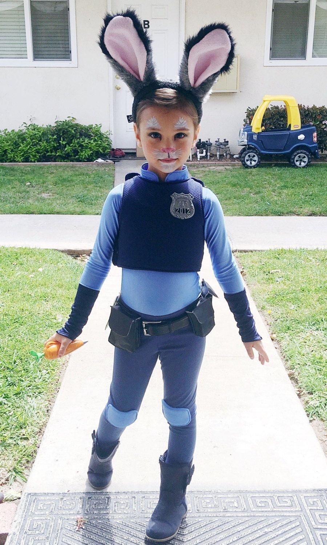 10 Lovable Boy Girl Halloween Costume Ideas judy hopps costume zootopiajustsewspecialshop on etsy holidays 2021