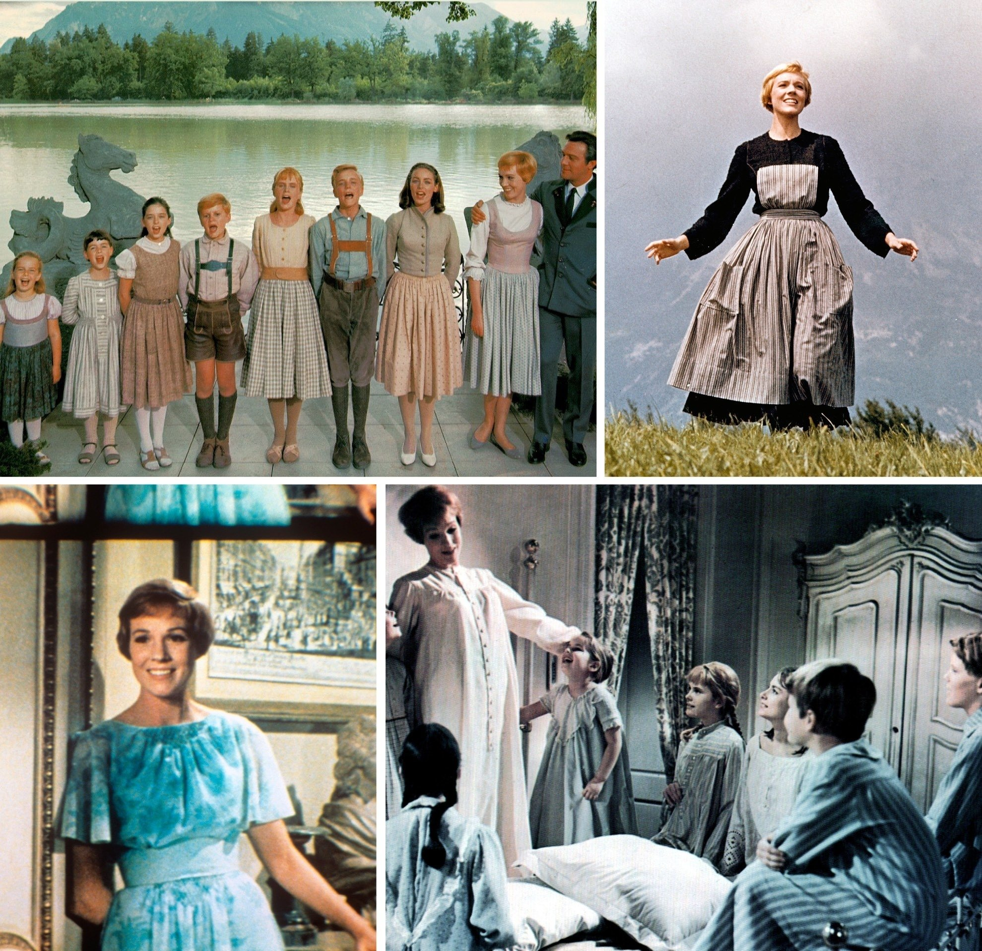 10 Most Recommended Sound Of Music Costume Ideas julie andrews wedding dress sound of music wedding dress wedding 2021