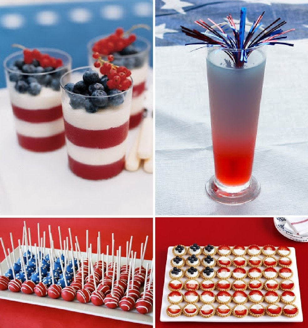 10 Stunning 4Th Of July Snack Ideas july 4th ideas 4th july pinterest holidays food and holiday fun