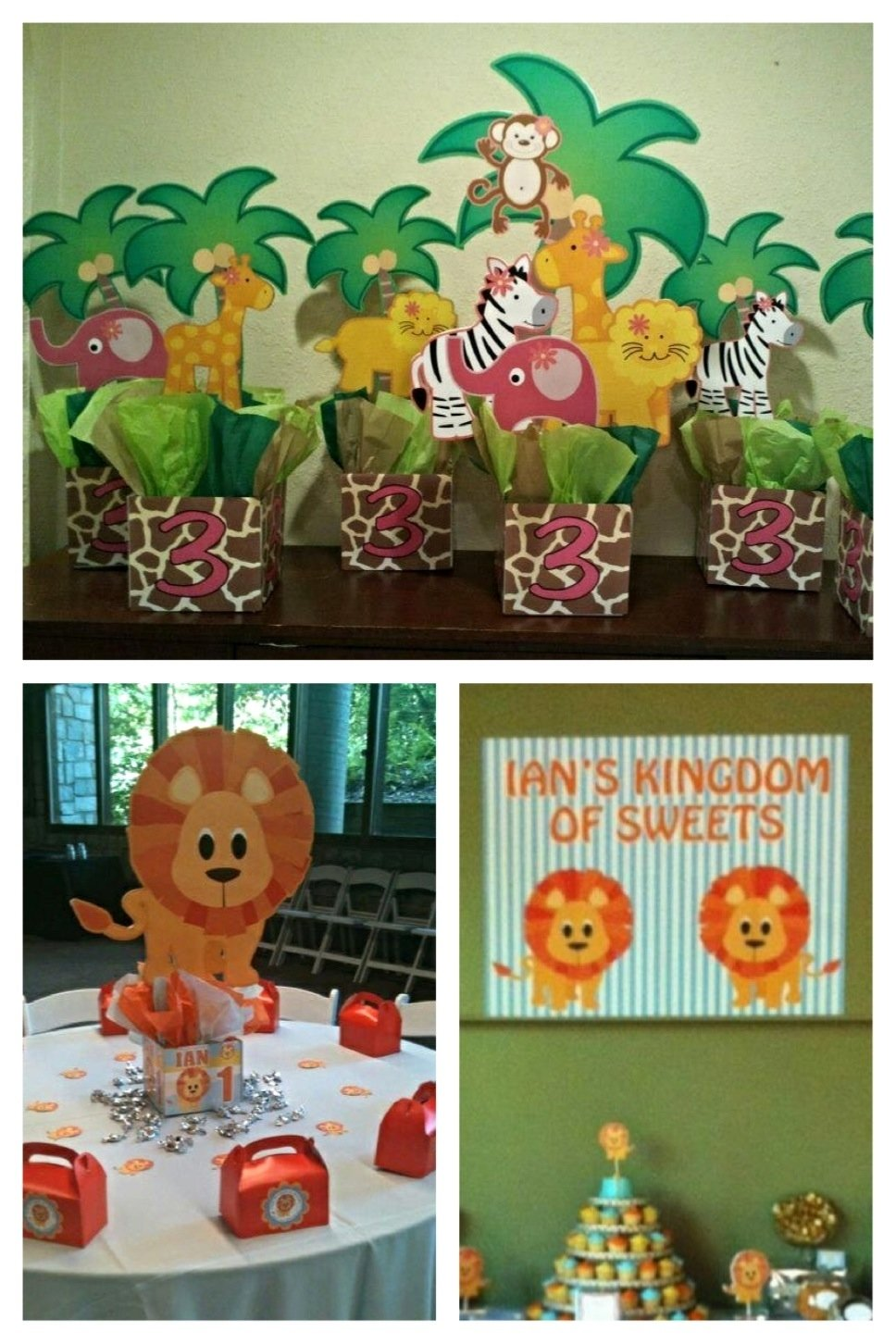 10 Spectacular Animal Themed Birthday Party Ideas jungle safari zoo birthday party centerpieces playpatterns