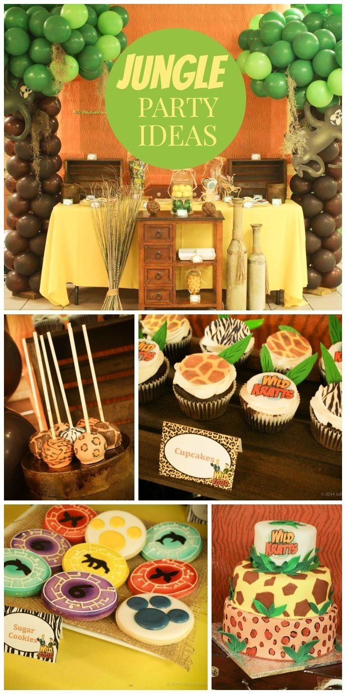 10 Spectacular Animal Themed Birthday Party Ideas jungle safari zoo party ideas and inspirations boy birthday