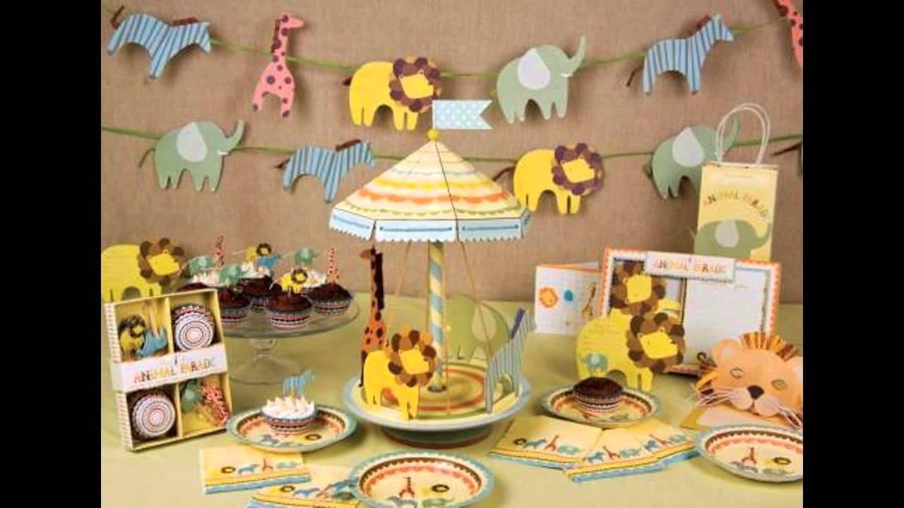 10 Stylish Safari Theme Baby Shower Ideas jungle themed baby shower decorations ideas youtube 2 2020