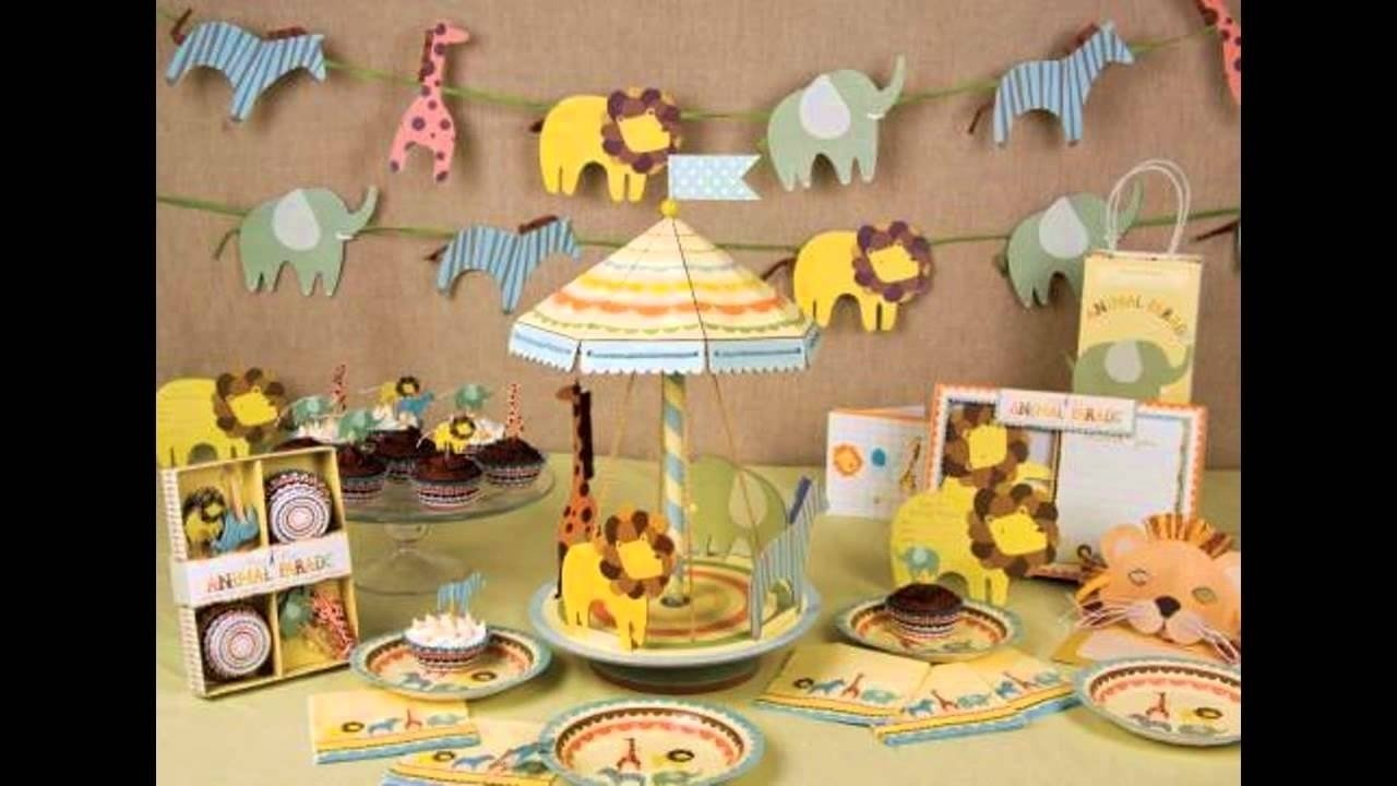 10 Awesome Jungle Themed Baby Shower Ideas jungle themed baby shower decorations ideas youtube inside baby