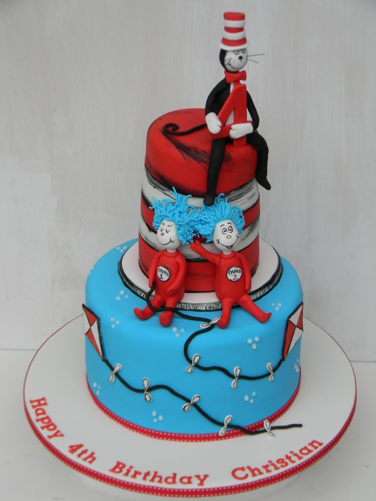 10 Attractive Cat In The Hat Cake Ideas just call me martha cat in the hat cake 2020