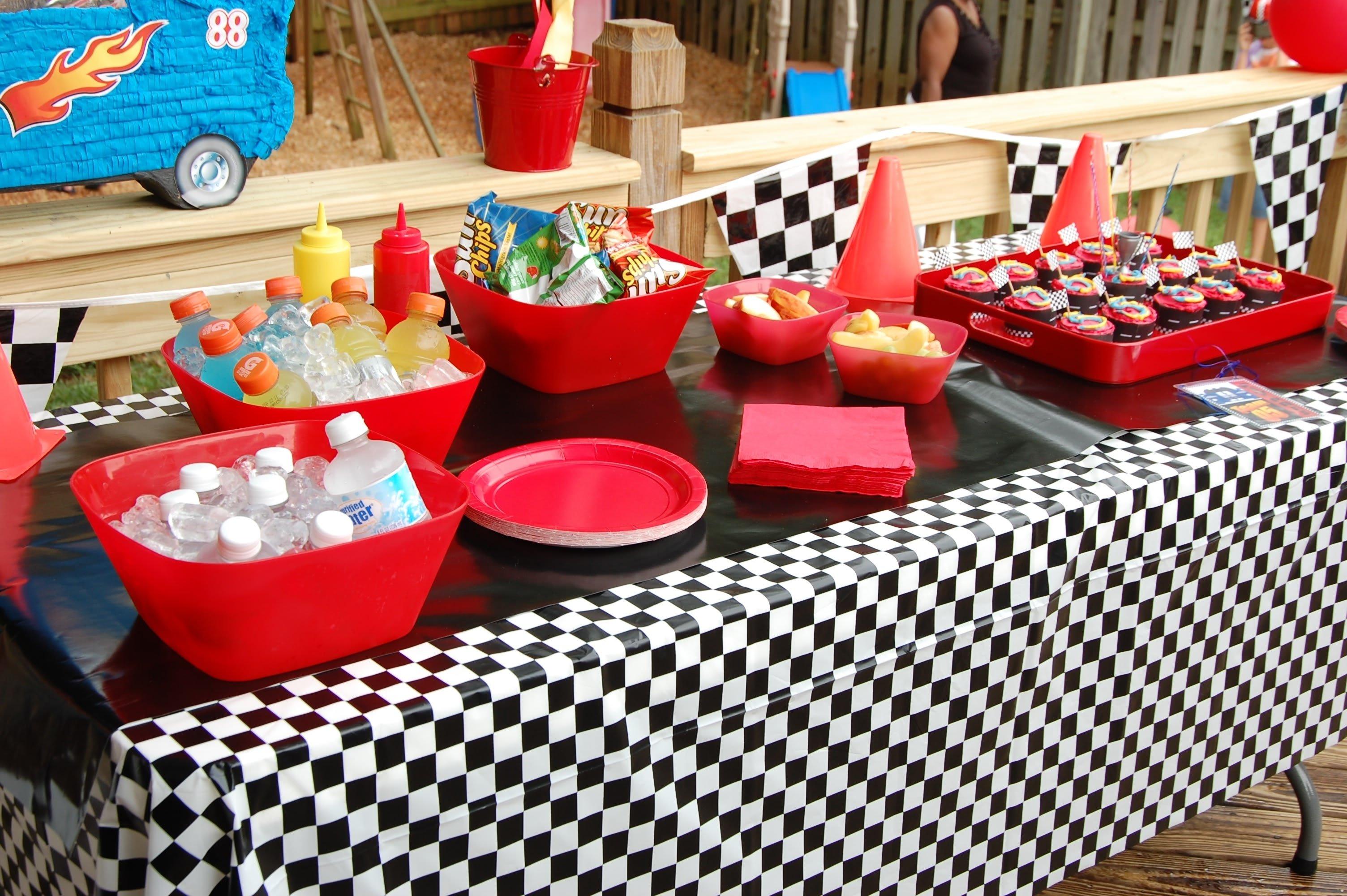 10 Stunning Race Car Birthday Party Ideas just deanna start your enginesits a race car party 2020