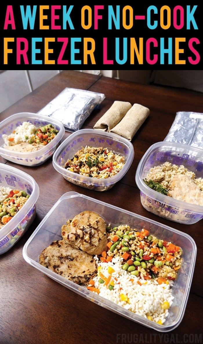 10 Perfect Bring Lunch To Work Ideas just take 30 minutes to put these make ahead lunches for work 2 2020